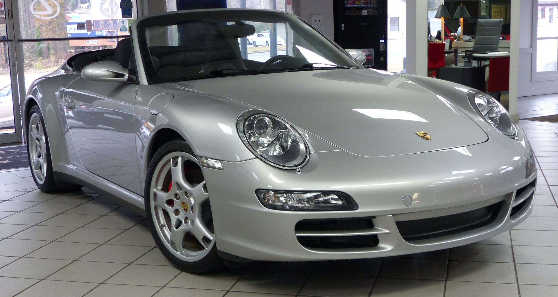 used 2008 porsche 911 carrera 4s marietta ga. Black Bedroom Furniture Sets. Home Design Ideas