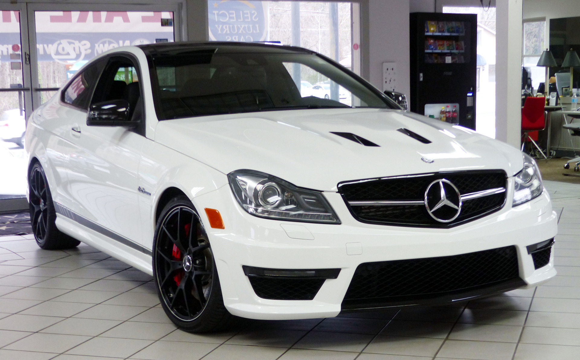 Used 2014 mercedes benz c class c63 amg marietta ga for Mercedes benz amg used