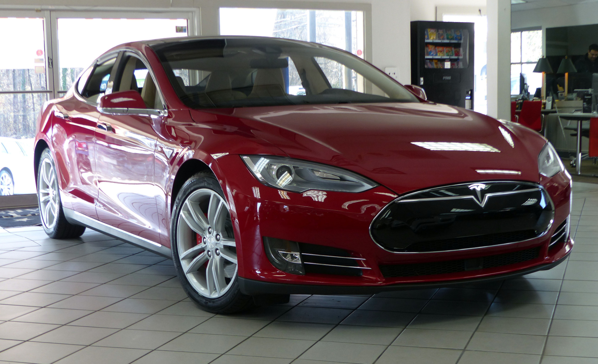 used 2015 tesla model s p85d marietta ga. Black Bedroom Furniture Sets. Home Design Ideas