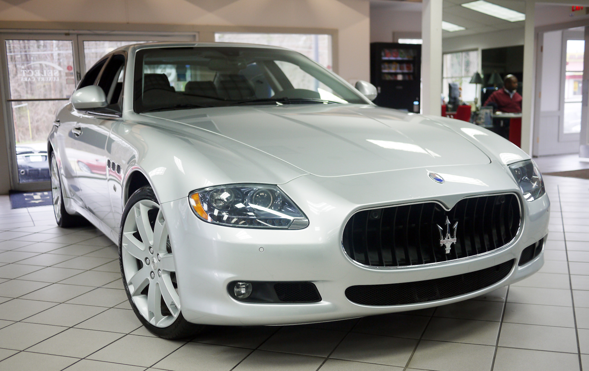 used 2011 maserati quattroporte s marietta ga. Black Bedroom Furniture Sets. Home Design Ideas
