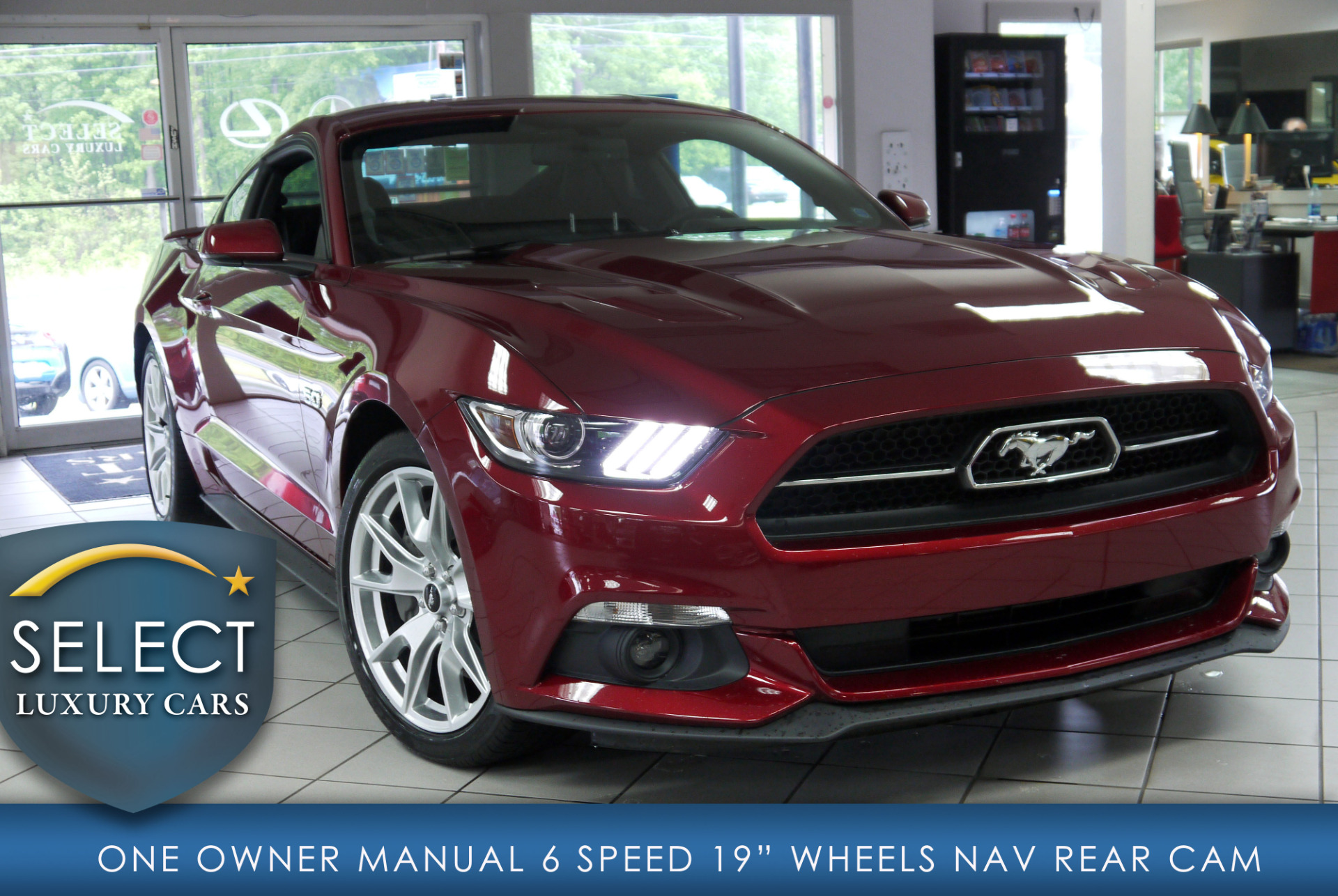used 2015 ford mustang gt premium marietta ga. Black Bedroom Furniture Sets. Home Design Ideas