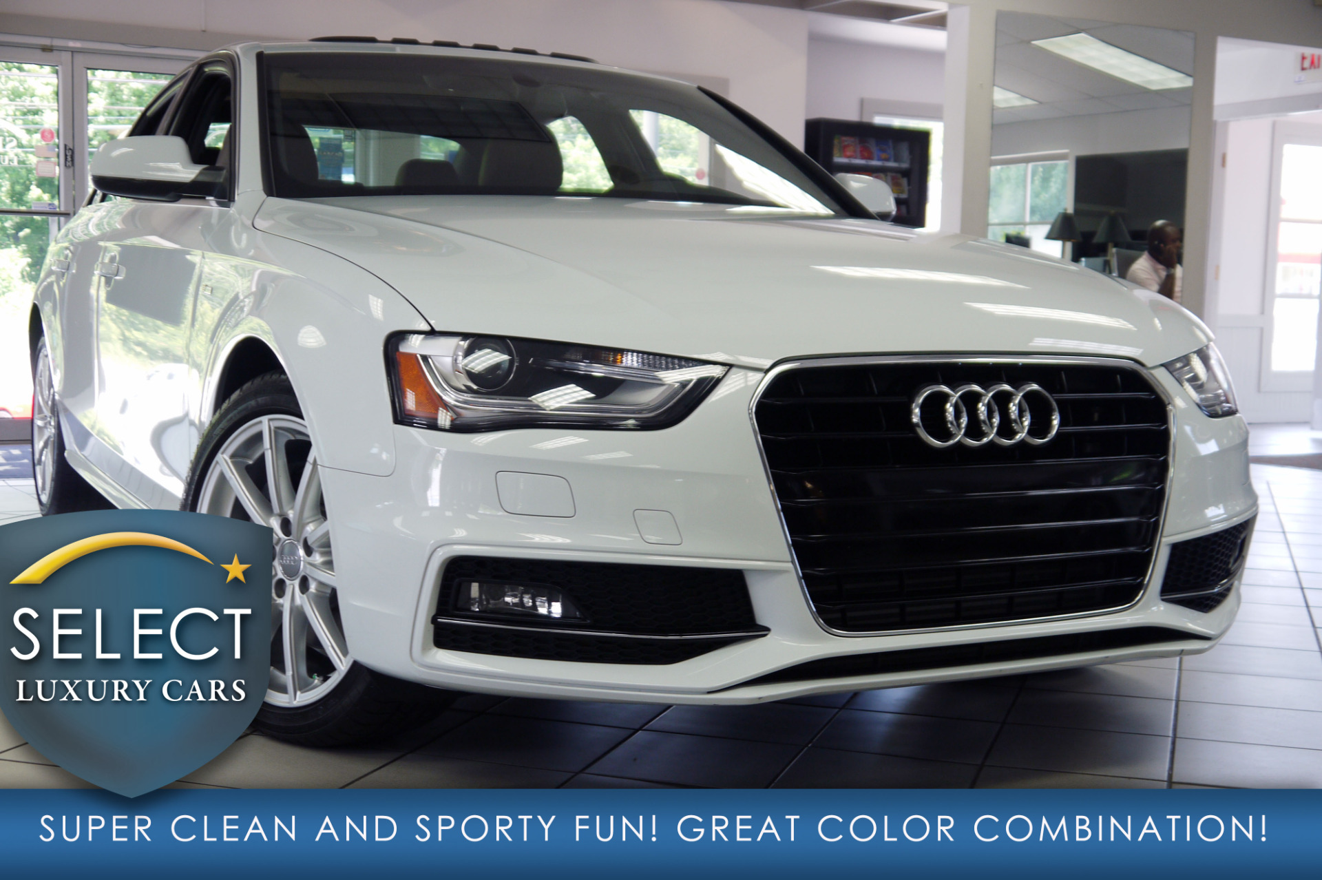 used 2015 audi a4 2 0t premium marietta ga. Black Bedroom Furniture Sets. Home Design Ideas