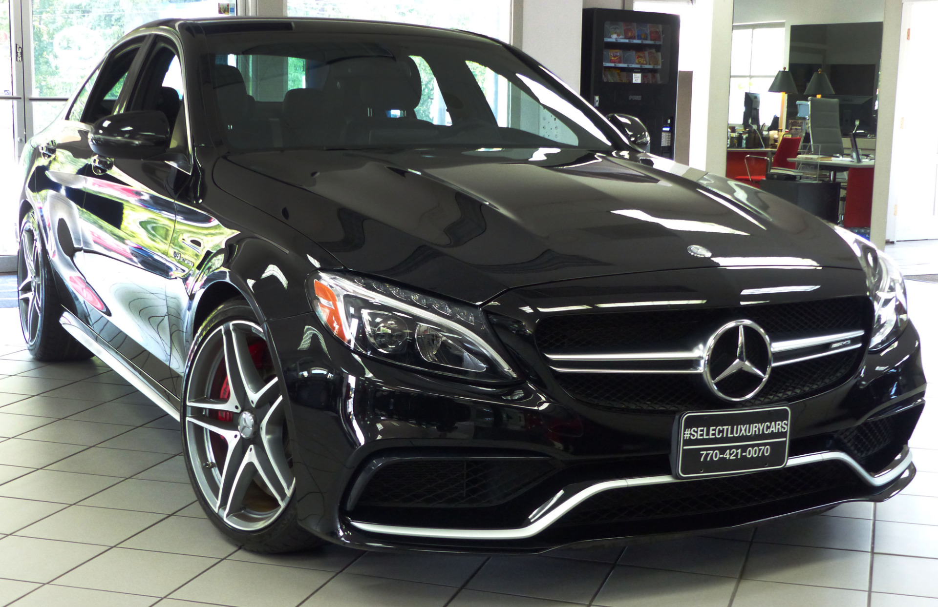Used 2016 mercedes benz c class c63 amg marietta ga for Mercedes benz 300 amg