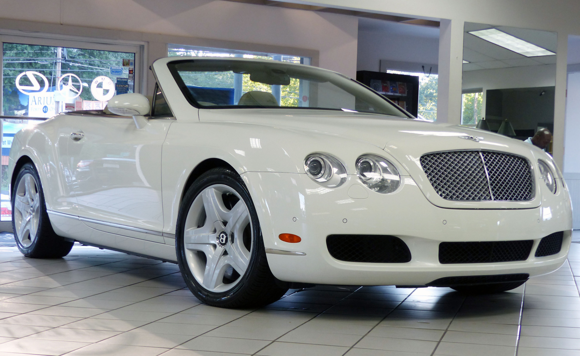 used 2007 bentley continental gtc marietta ga. Black Bedroom Furniture Sets. Home Design Ideas