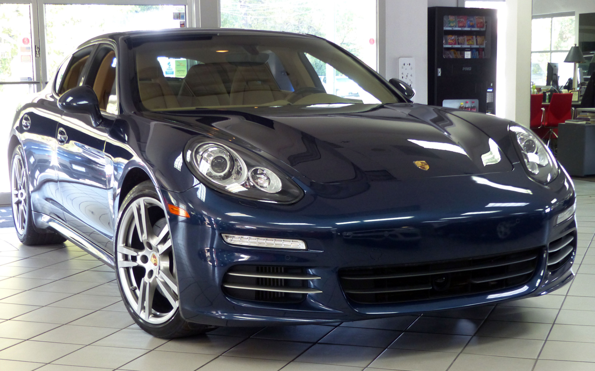 used 2014 porsche panamera 4s marietta ga. Black Bedroom Furniture Sets. Home Design Ideas