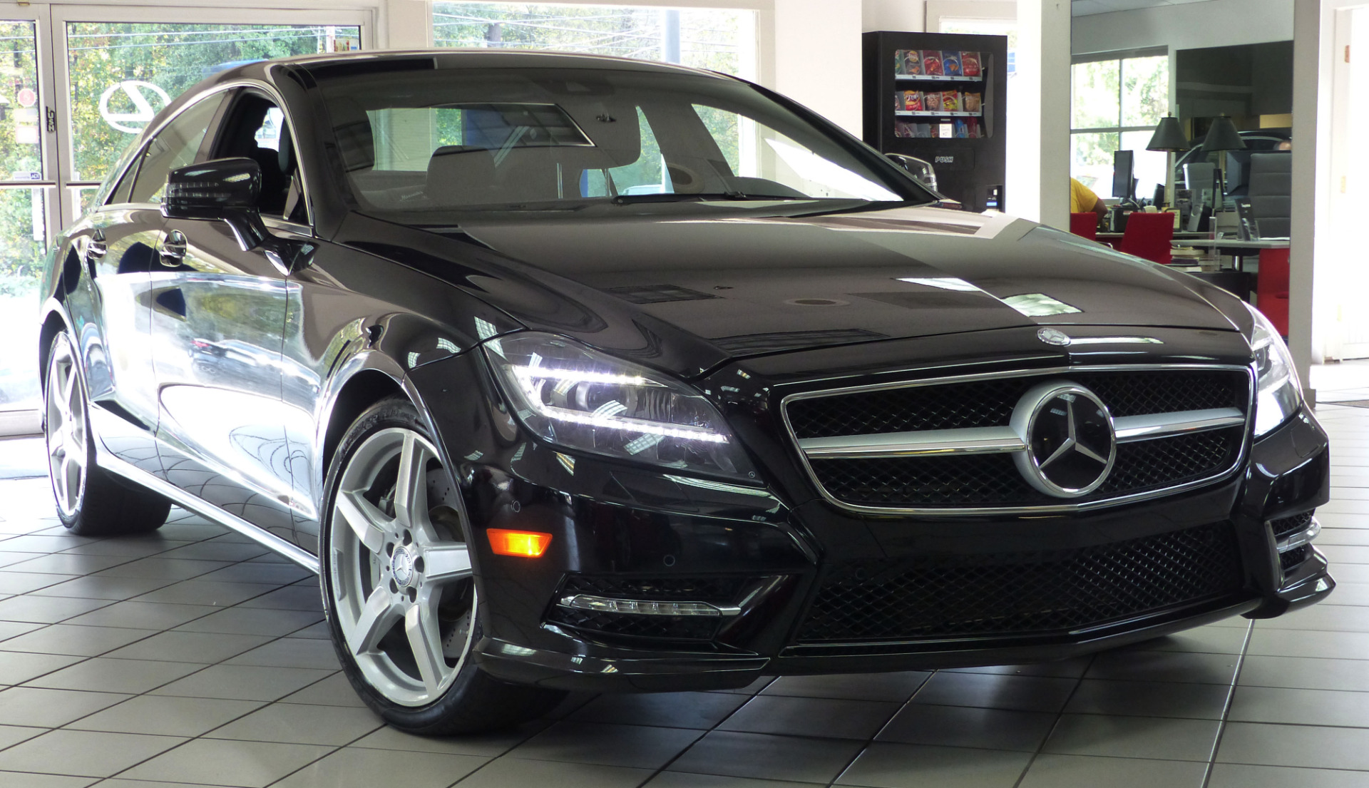 used 2014 mercedes benz cls class cls550 marietta ga. Black Bedroom Furniture Sets. Home Design Ideas