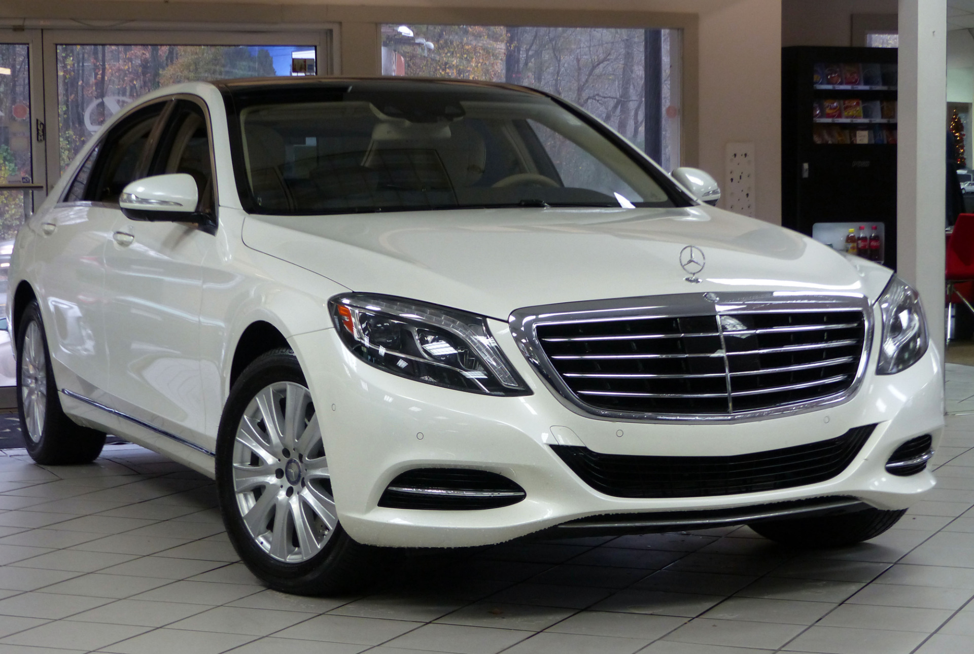 Used 2014 mercedes benz s class s550 marietta ga for Used s class mercedes benz