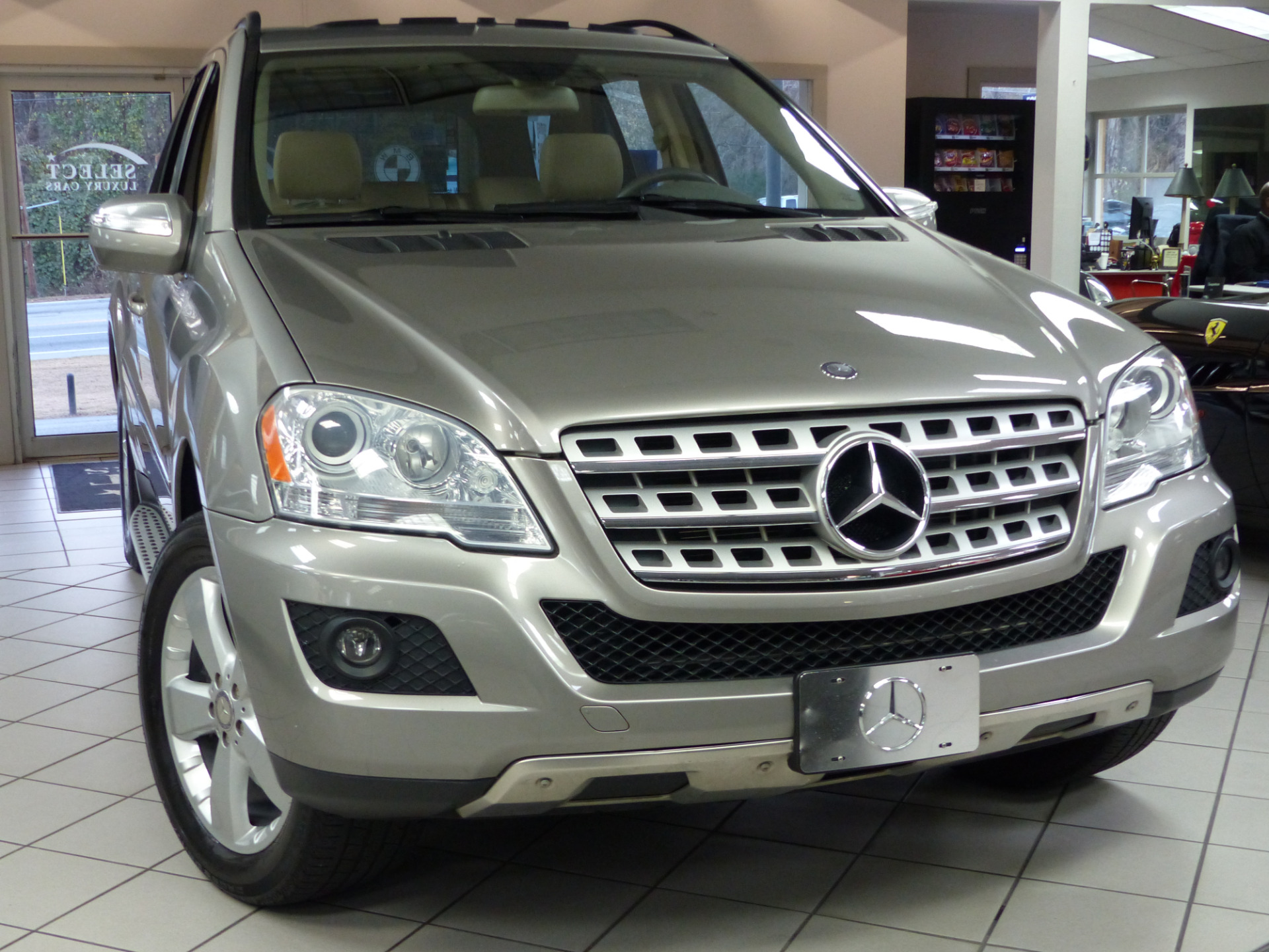Used 2009 mercedes benz m class ml350 marietta ga for Mercedes benz m class ml350