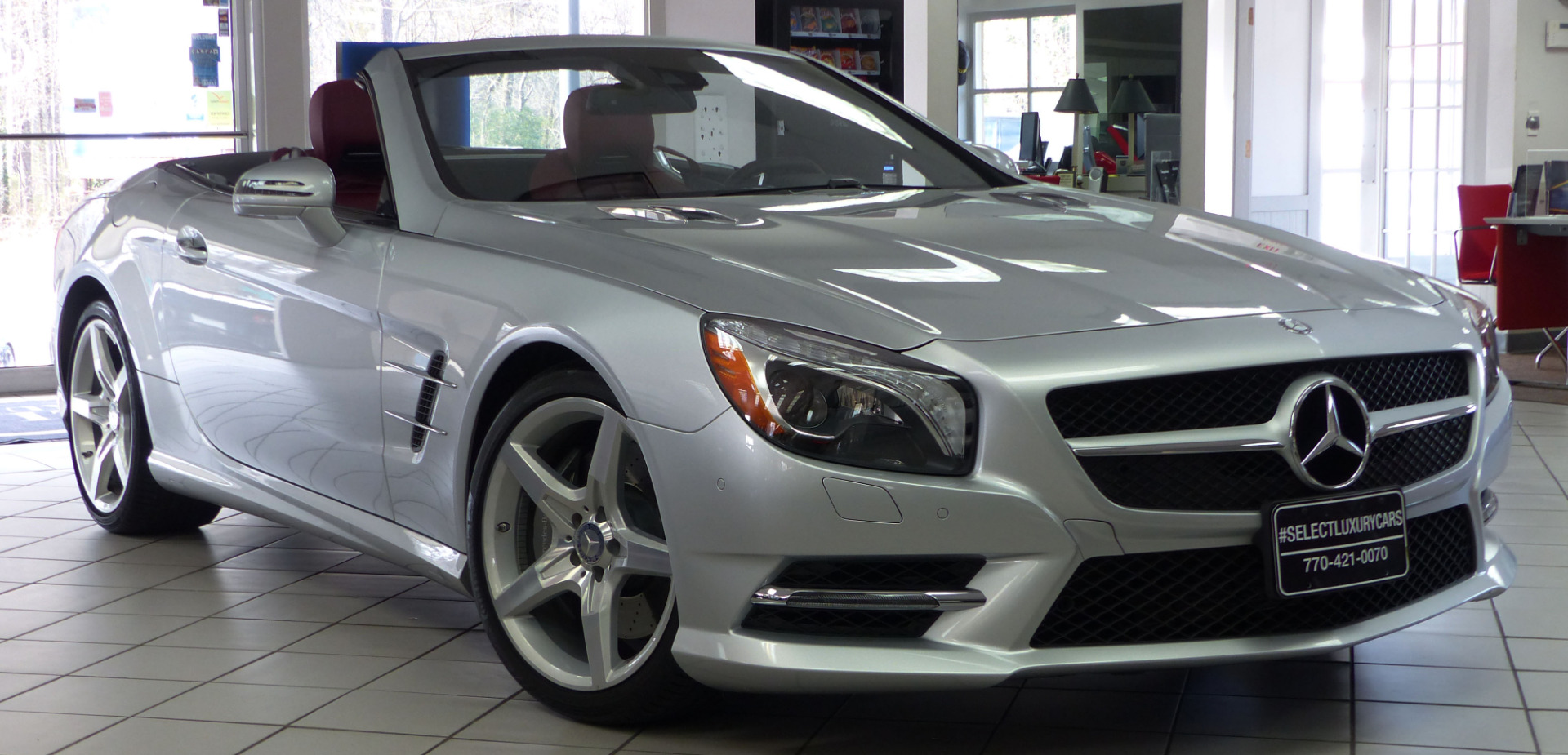Used 2014 mercedes benz sl class sl550 cabriolet for Mercedes benz sl class