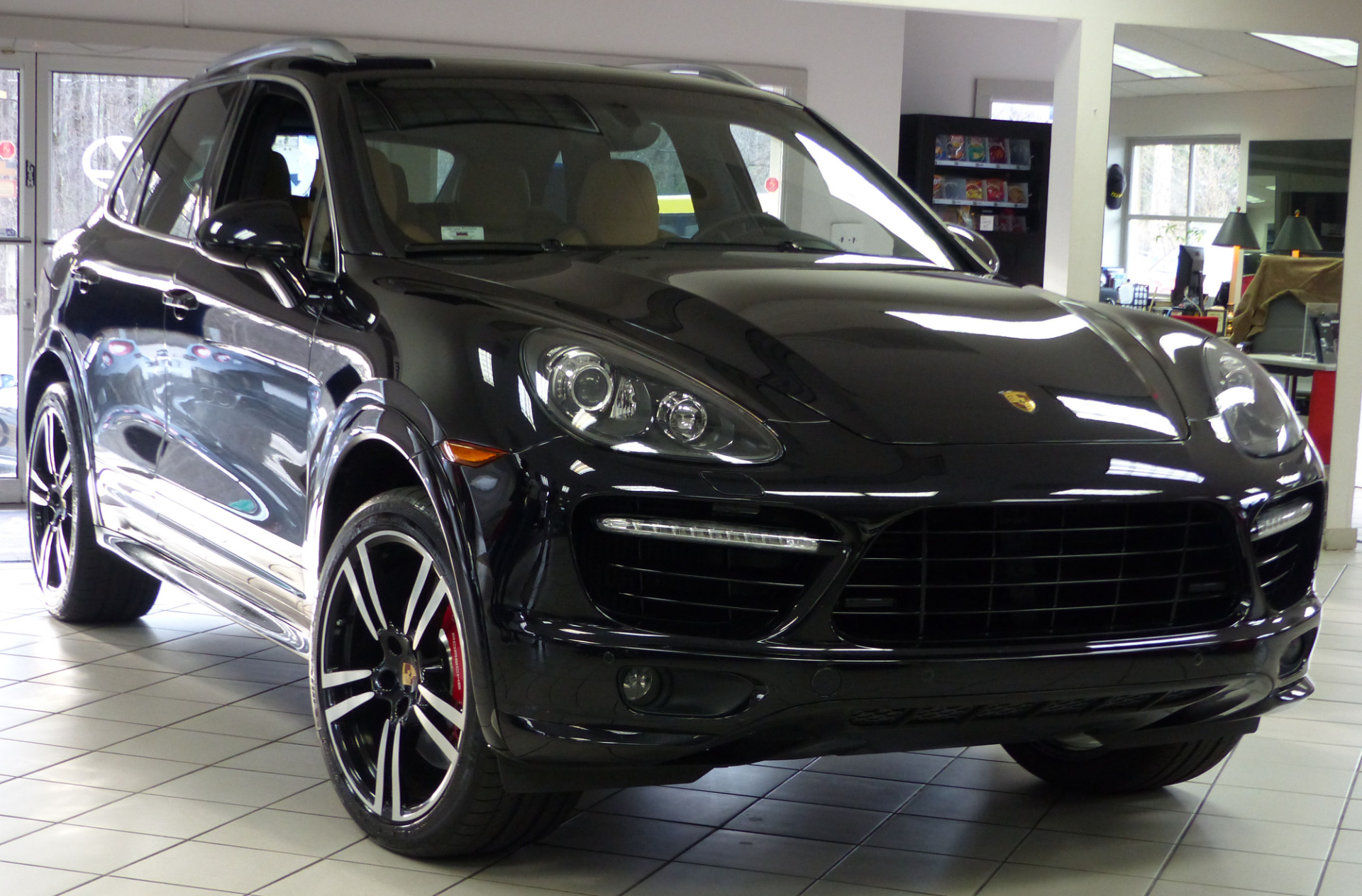 used 2014 porsche cayenne turbo s marietta ga. Black Bedroom Furniture Sets. Home Design Ideas