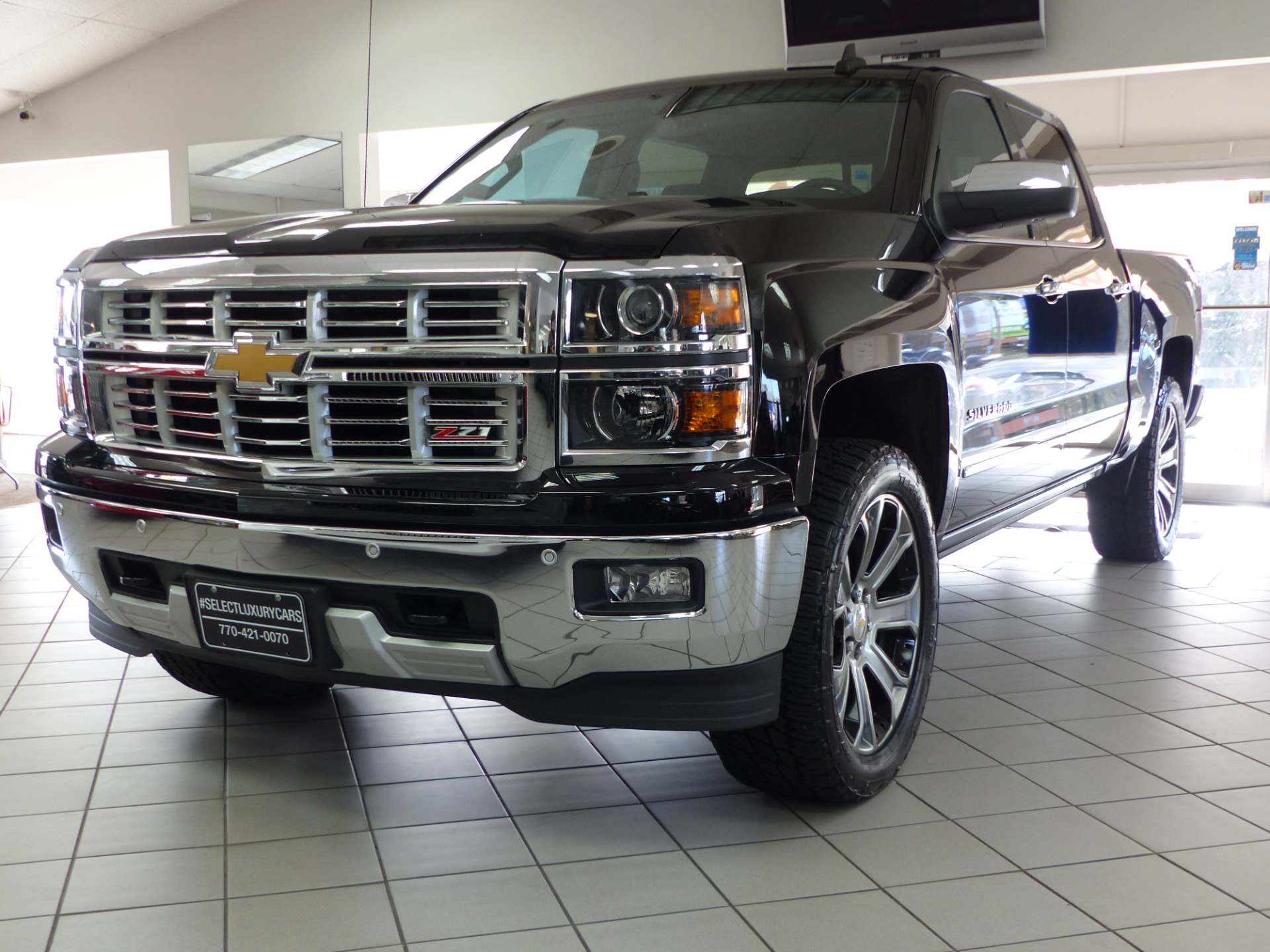 used 2015 chevrolet silverado 1500 ltz marietta ga. Black Bedroom Furniture Sets. Home Design Ideas