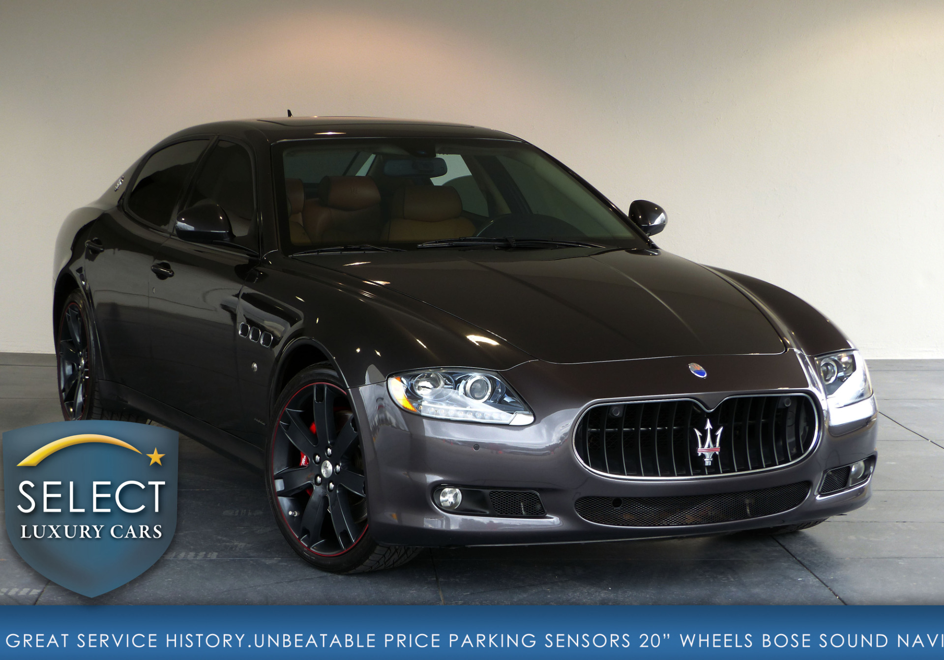 used 2013 maserati quattroporte s marietta ga. Black Bedroom Furniture Sets. Home Design Ideas
