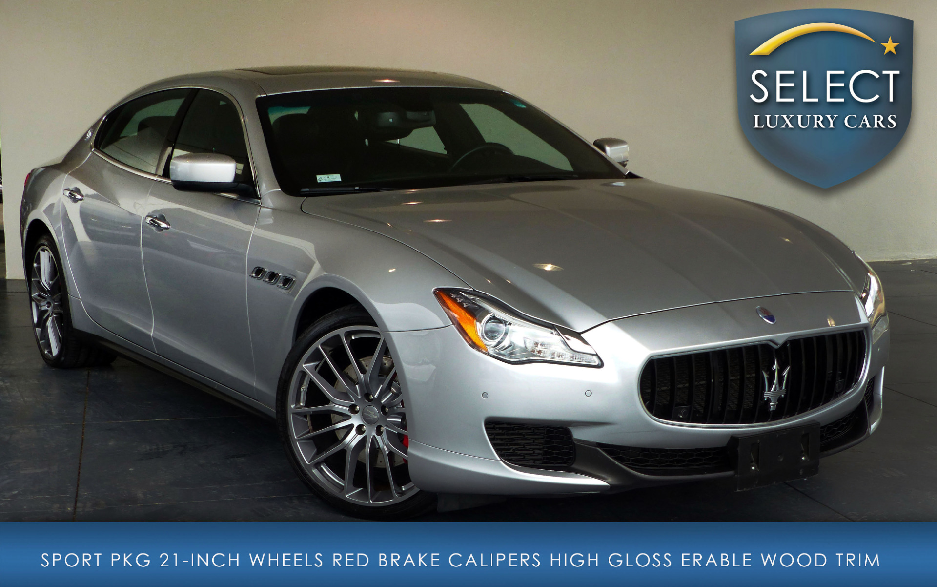 used 2014 maserati quattroporte s q4 marietta ga. Black Bedroom Furniture Sets. Home Design Ideas