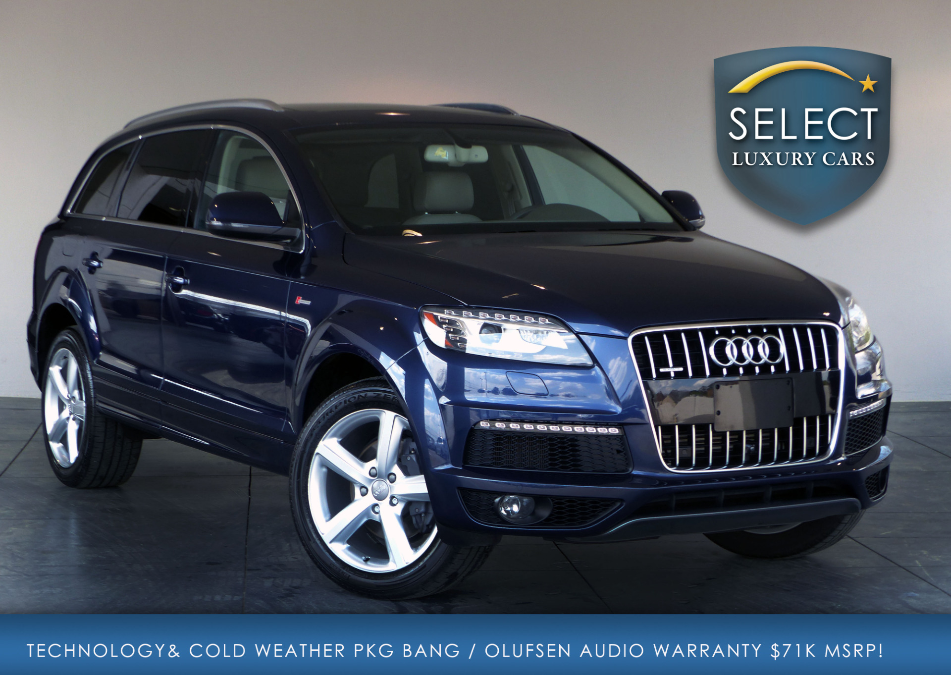 used 2013 audi q7 3 0t s line prestige marietta ga. Black Bedroom Furniture Sets. Home Design Ideas