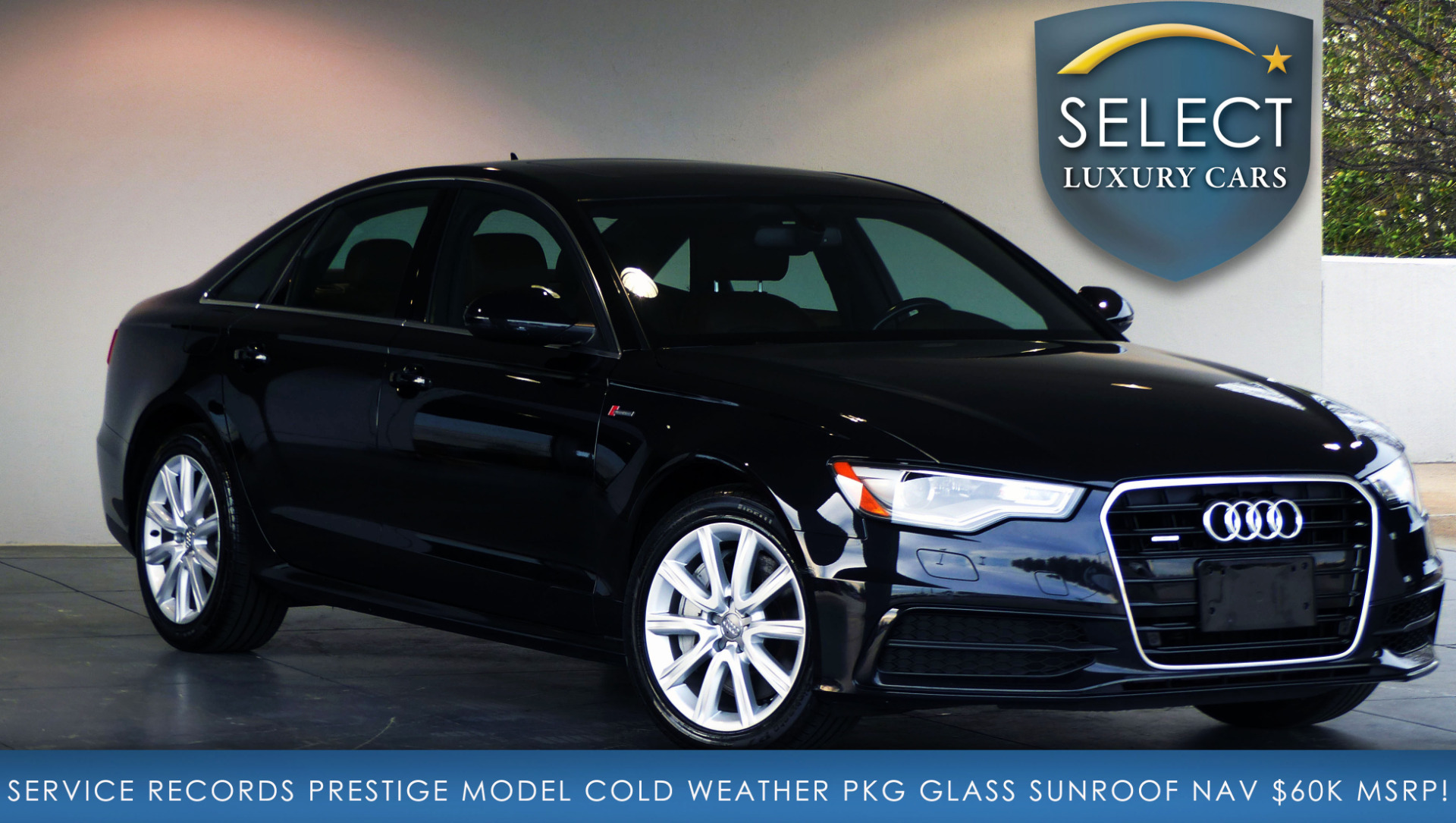 used 2014 audi a6 3 0t prestige marietta ga. Black Bedroom Furniture Sets. Home Design Ideas