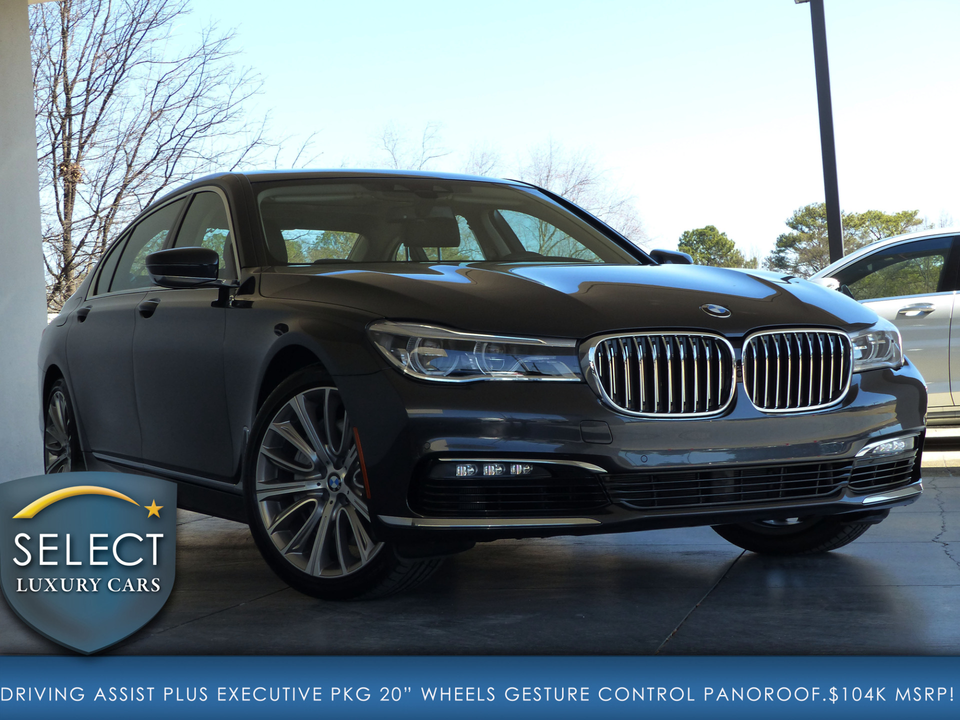 used 2017 bmw 7 series 750i marietta ga. Black Bedroom Furniture Sets. Home Design Ideas