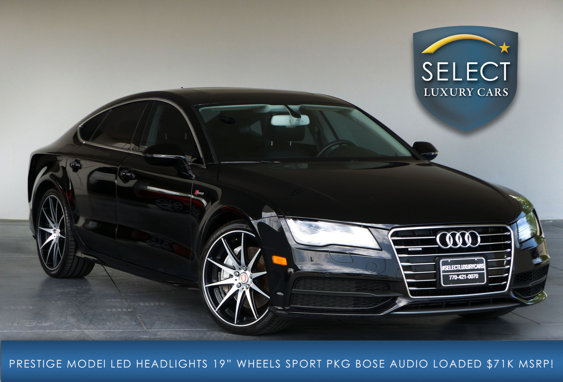 used 2014 audi a7 3 0t prestige marietta ga. Black Bedroom Furniture Sets. Home Design Ideas