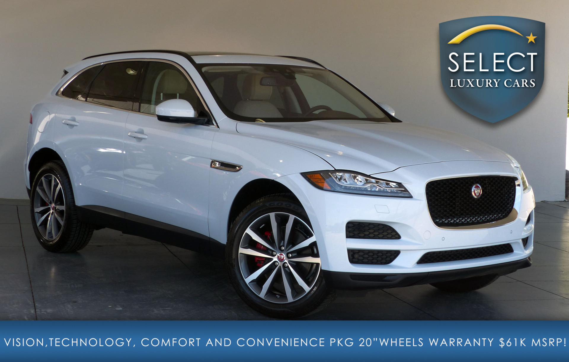 used 2017 jaguar f pace 35t prestige marietta ga. Black Bedroom Furniture Sets. Home Design Ideas
