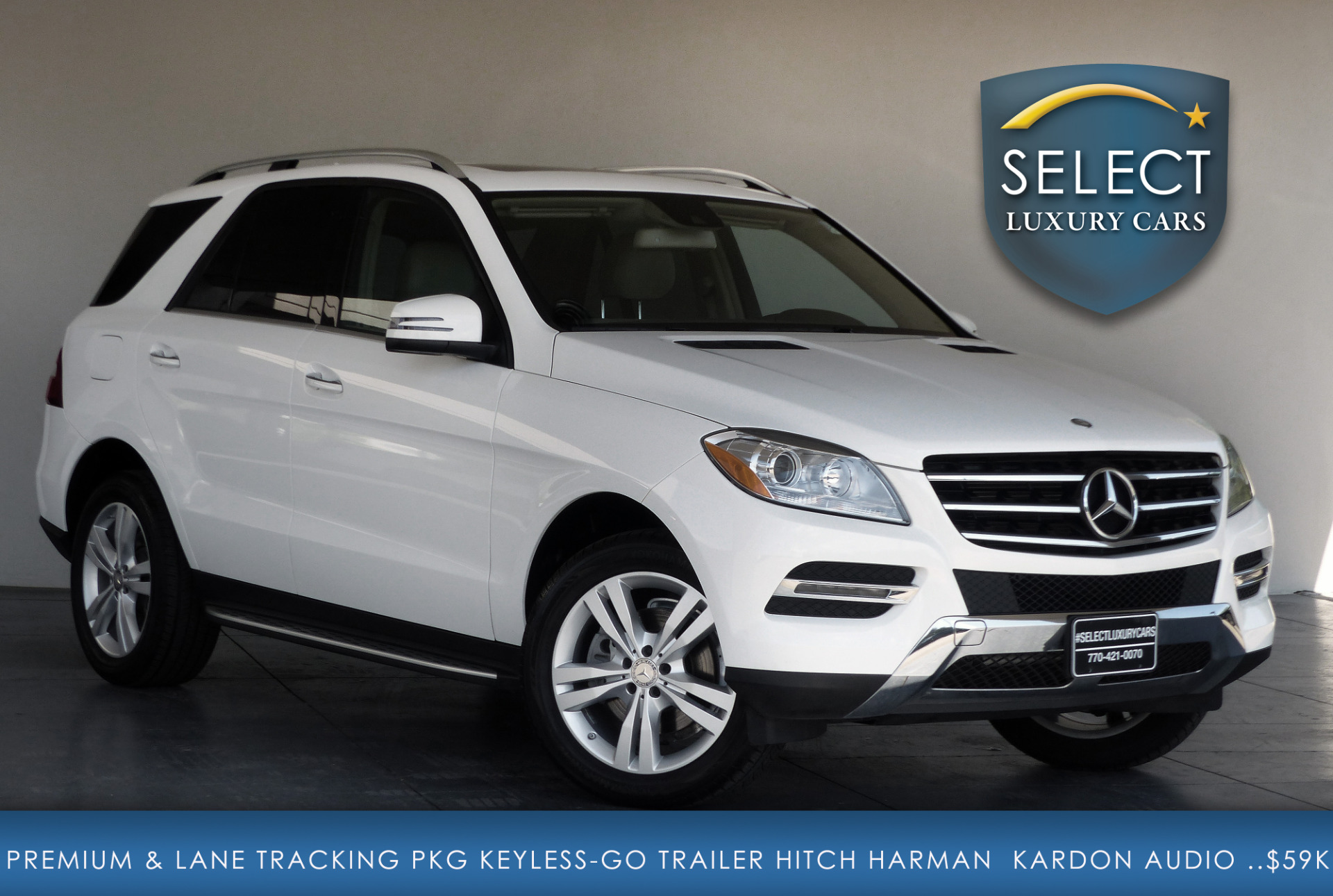 Used 2015 mercedes benz m class ml 350 4matic marietta ga for Mercedes benz ml 2015