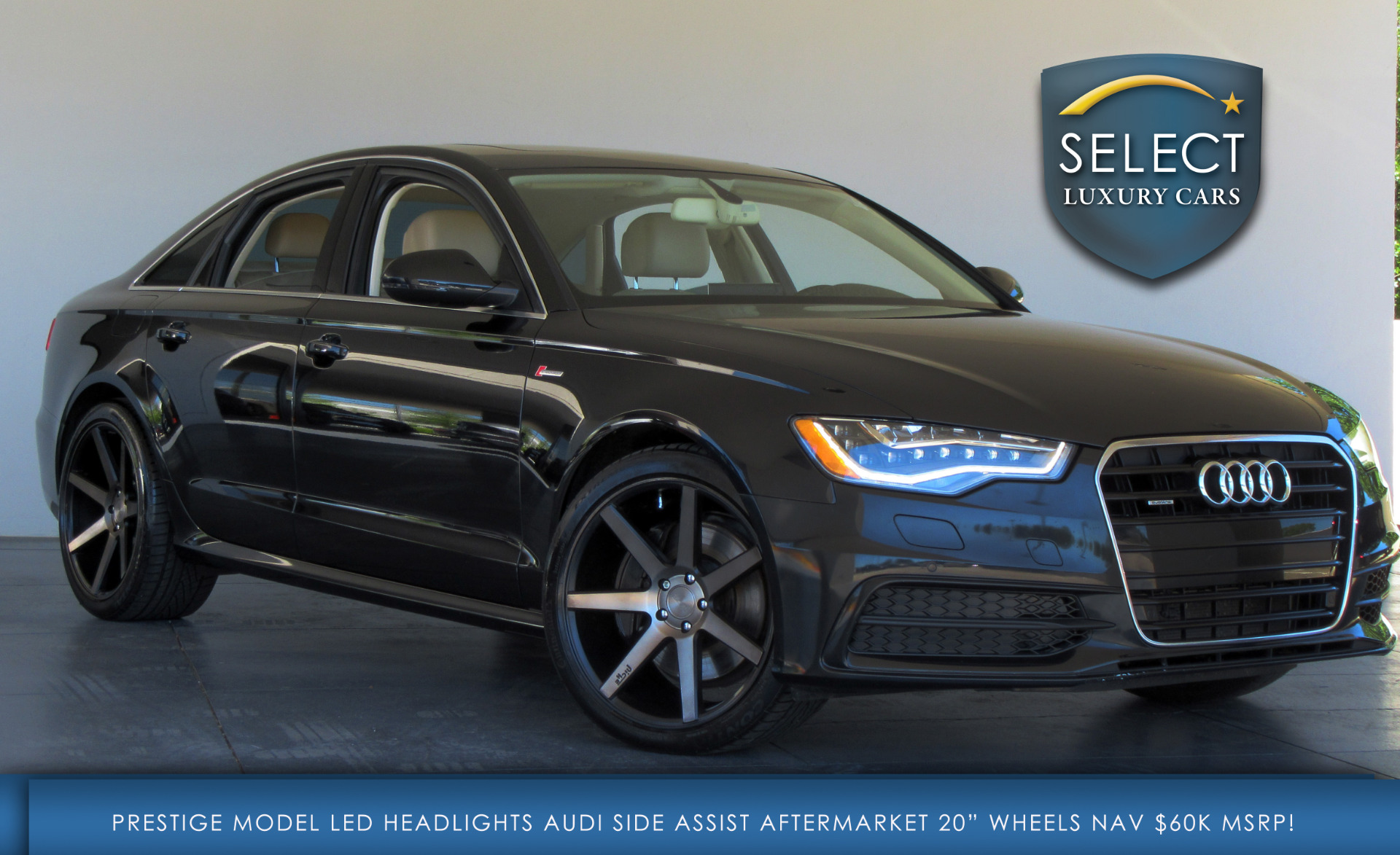 used 2012 audi a6 3 0 prestige marietta ga. Black Bedroom Furniture Sets. Home Design Ideas