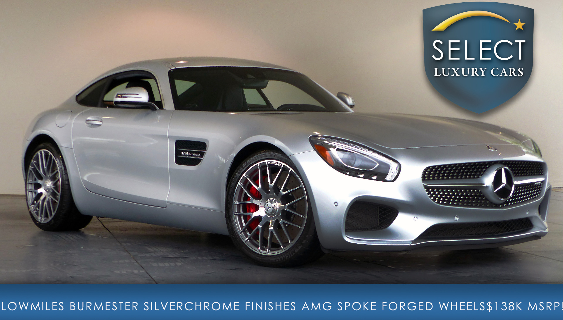 Used 2016 mercedes benz amg gt s marietta ga for Mercedes benz amg used