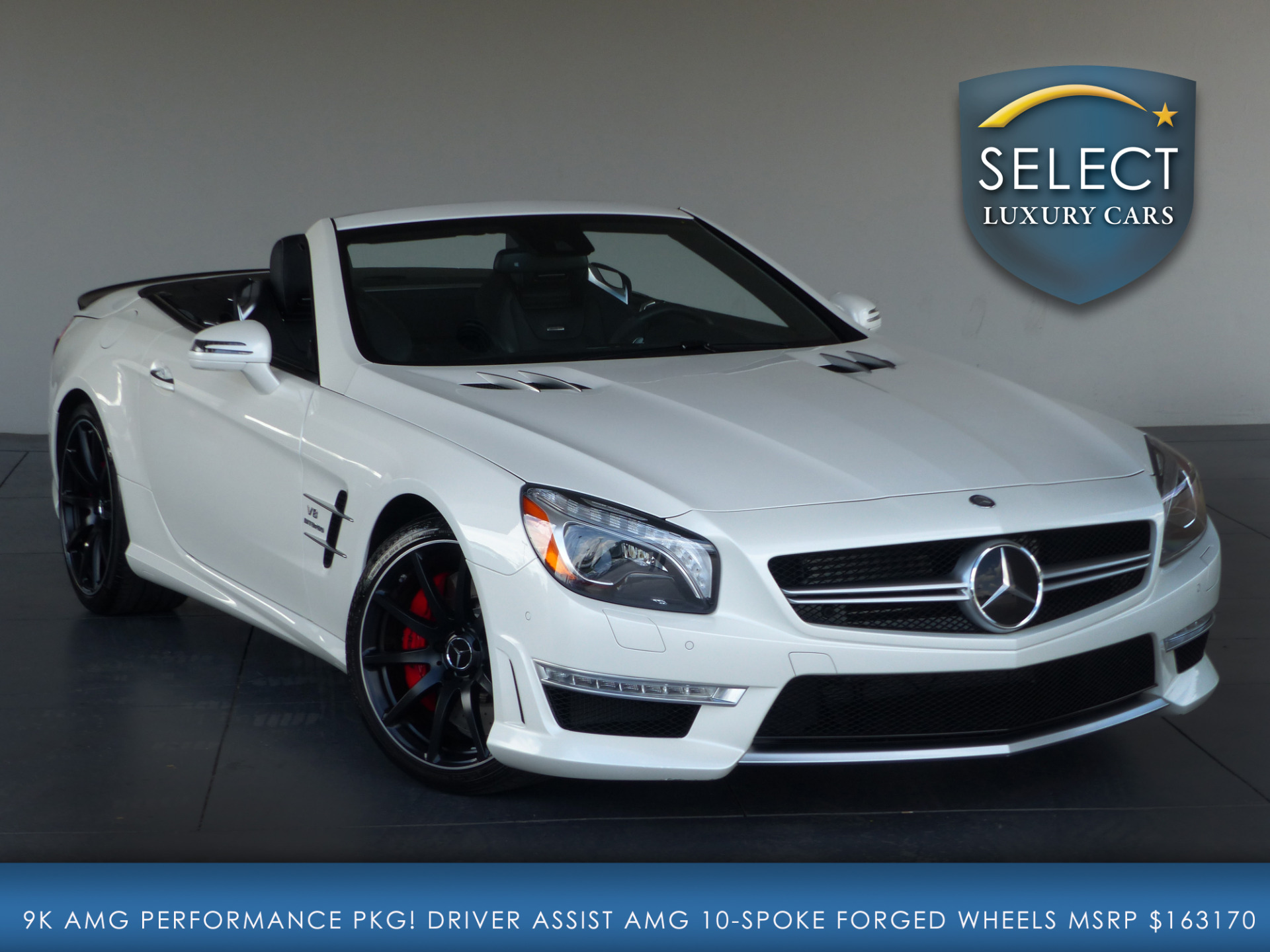 Used 2014 mercedes benz sl class sl63 amg marietta ga for Mercedes benz sl500 amg