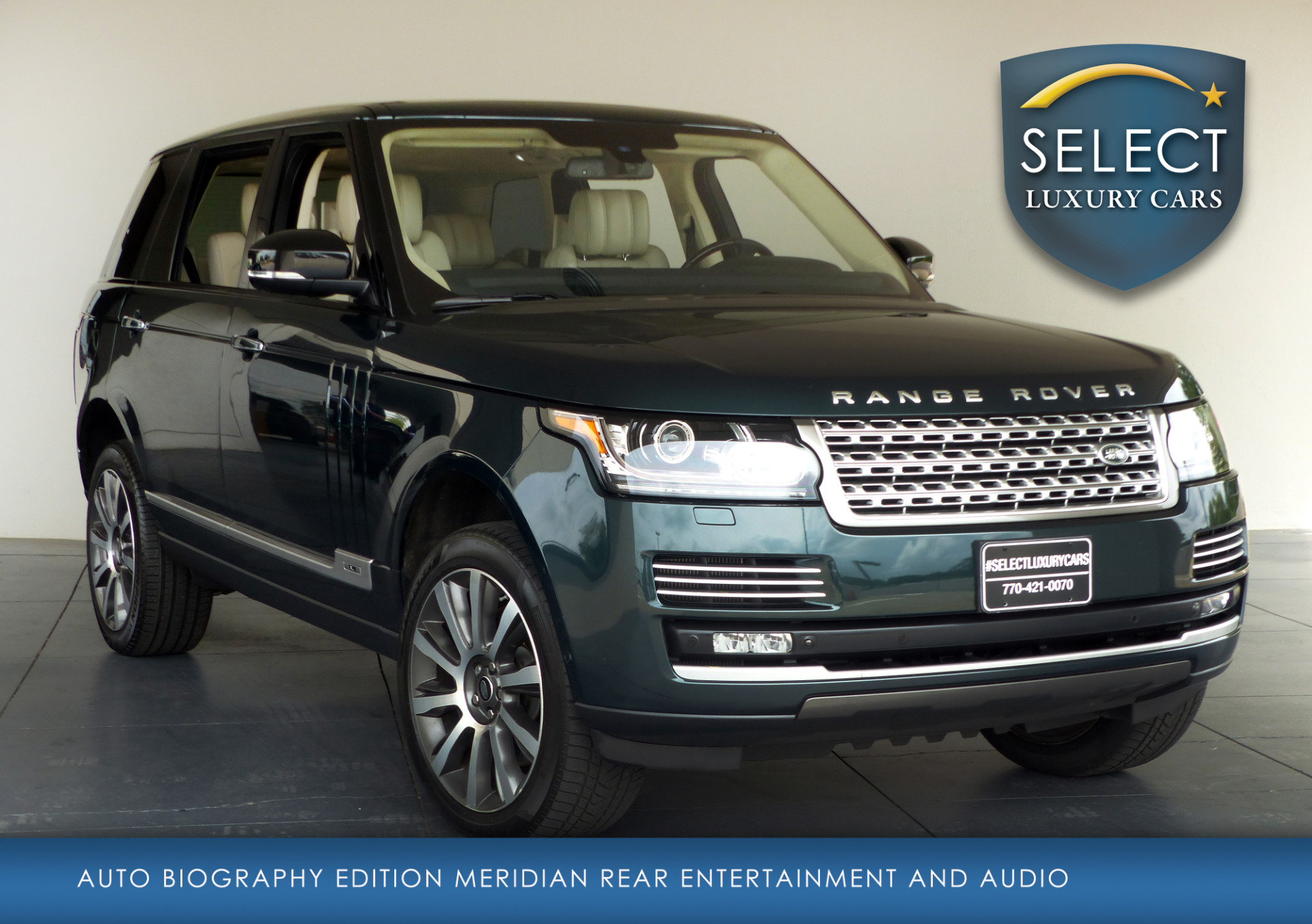 used 2014 land rover range rover 5 0l v8 supercharged autobiography marietta ga. Black Bedroom Furniture Sets. Home Design Ideas