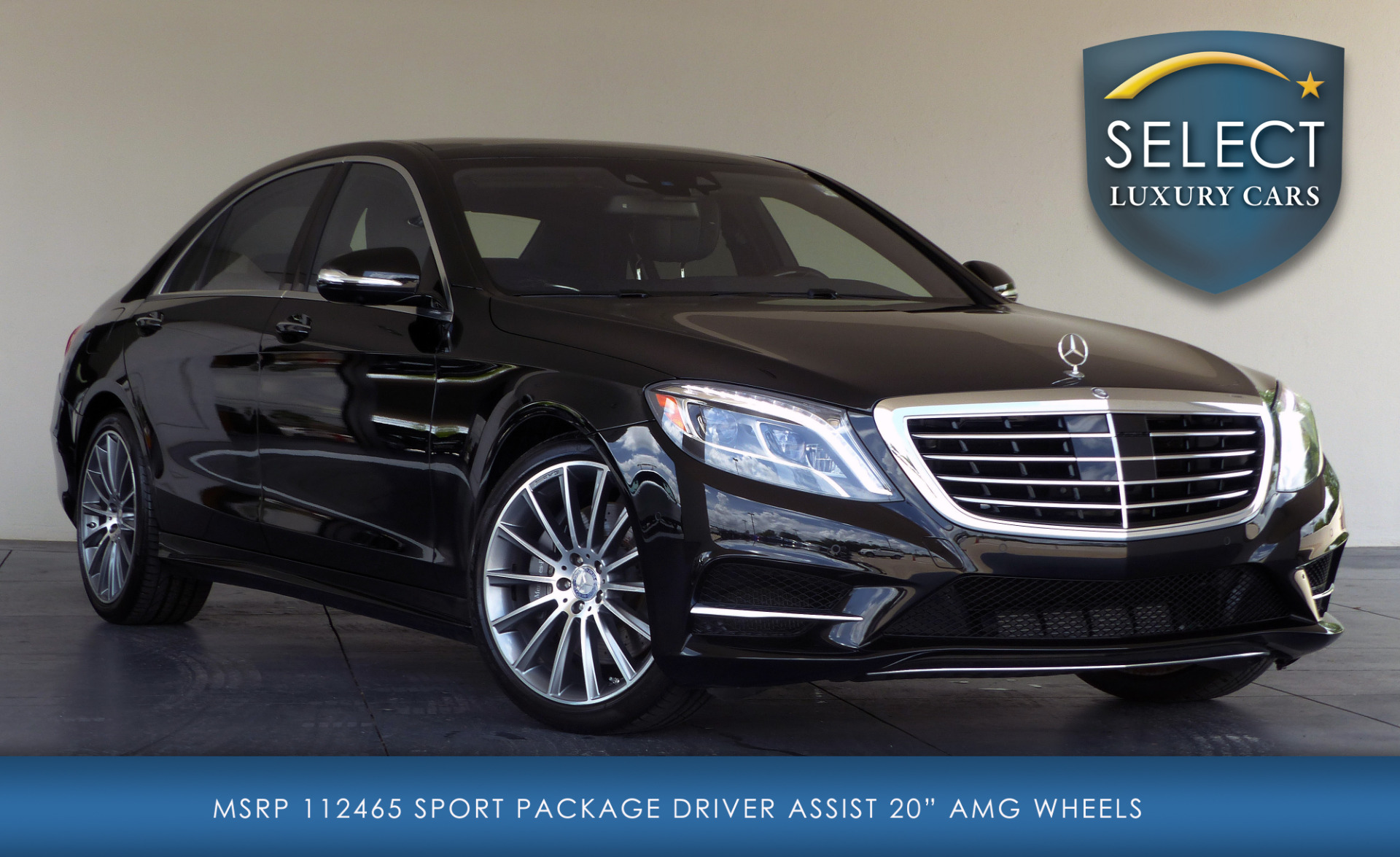 Used 2015 mercedes benz s class s550 marietta ga for Used s550 mercedes benz