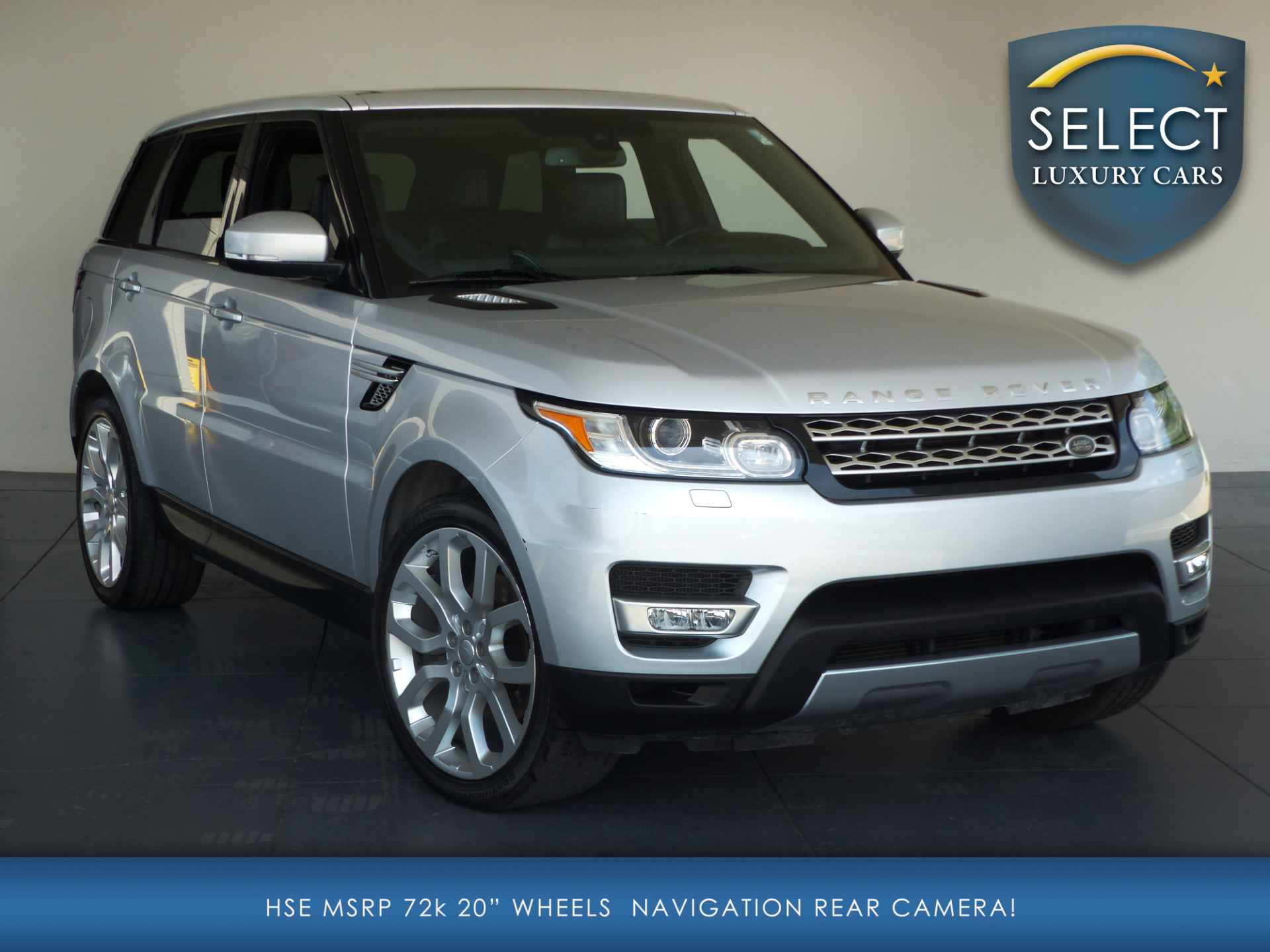 used 2014 land rover range rover sport 3 0l v6. Black Bedroom Furniture Sets. Home Design Ideas