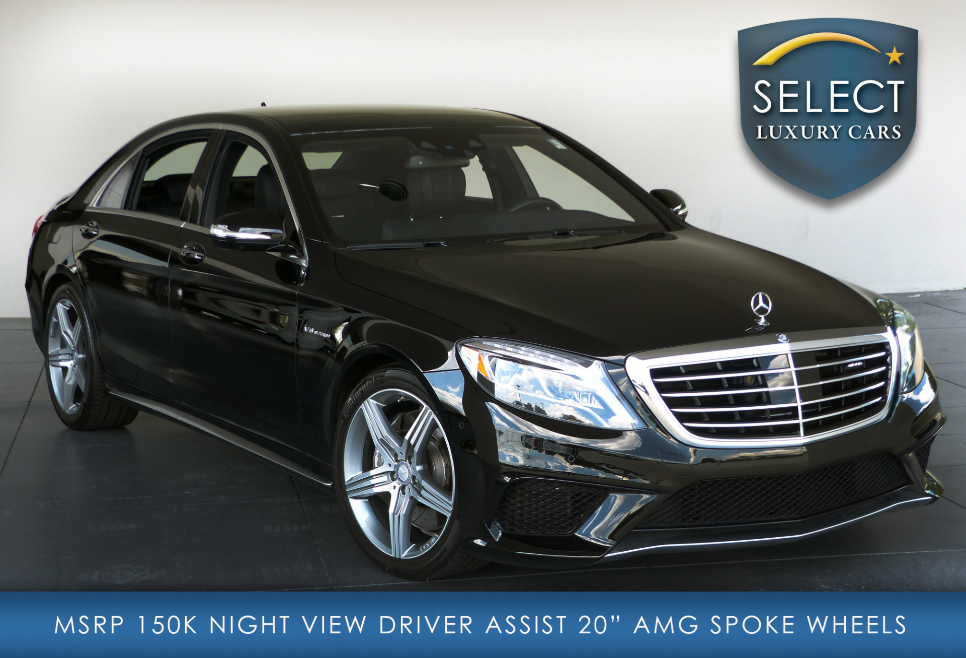Used 2015 mercedes benz s class s63 amg marietta ga for Used s class mercedes benz