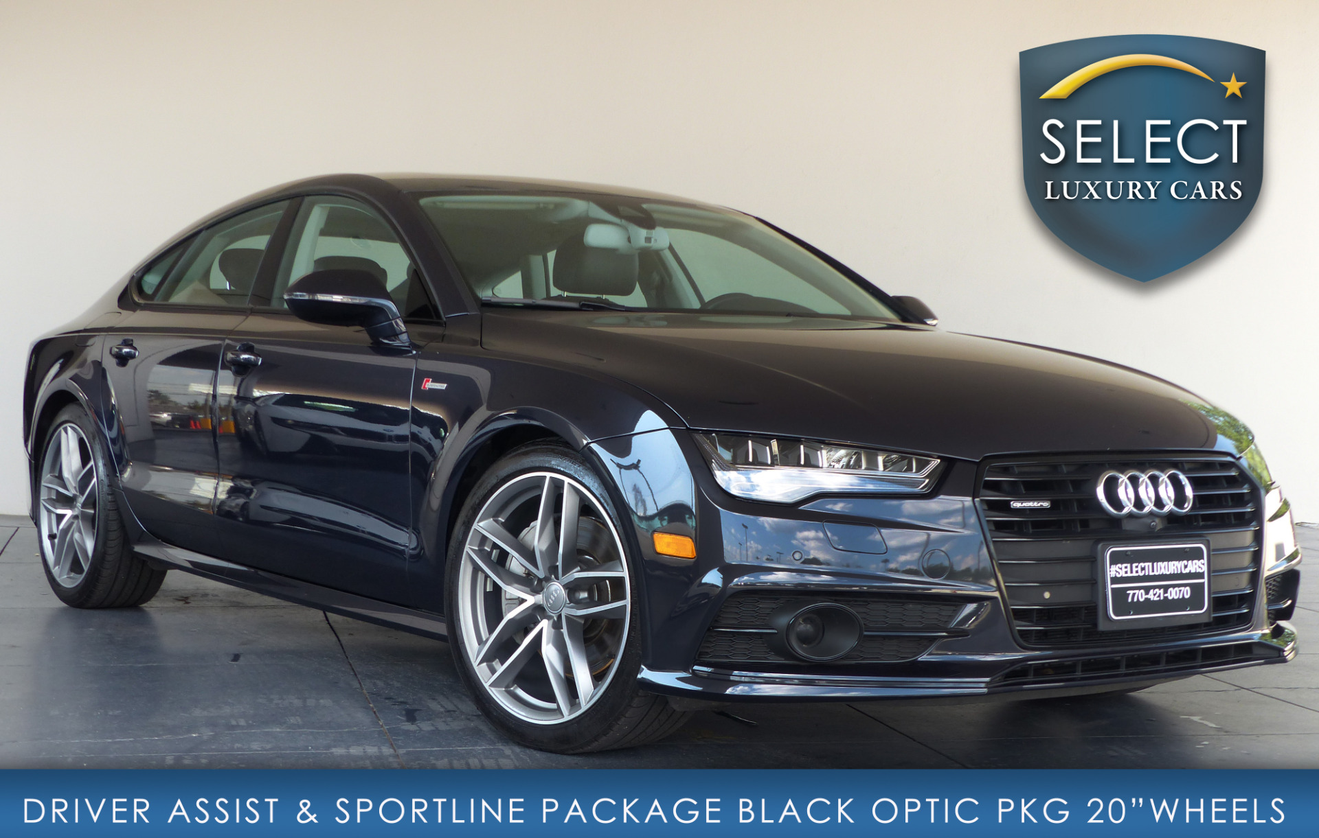 used 2016 audi a7 3 0t premium plus marietta ga. Black Bedroom Furniture Sets. Home Design Ideas
