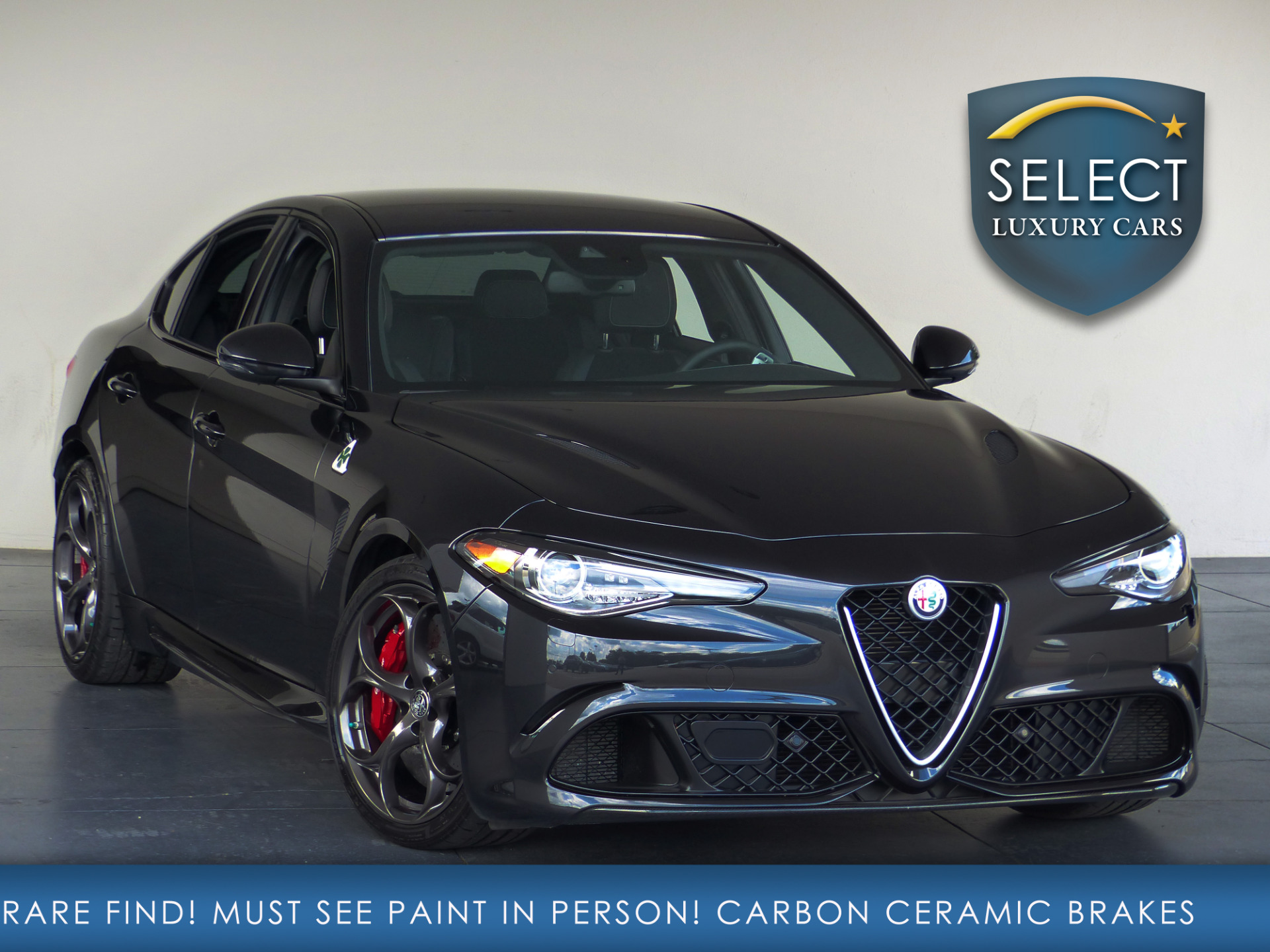 used 2017 alfa romeo giulia quadrifoglio marietta ga. Black Bedroom Furniture Sets. Home Design Ideas