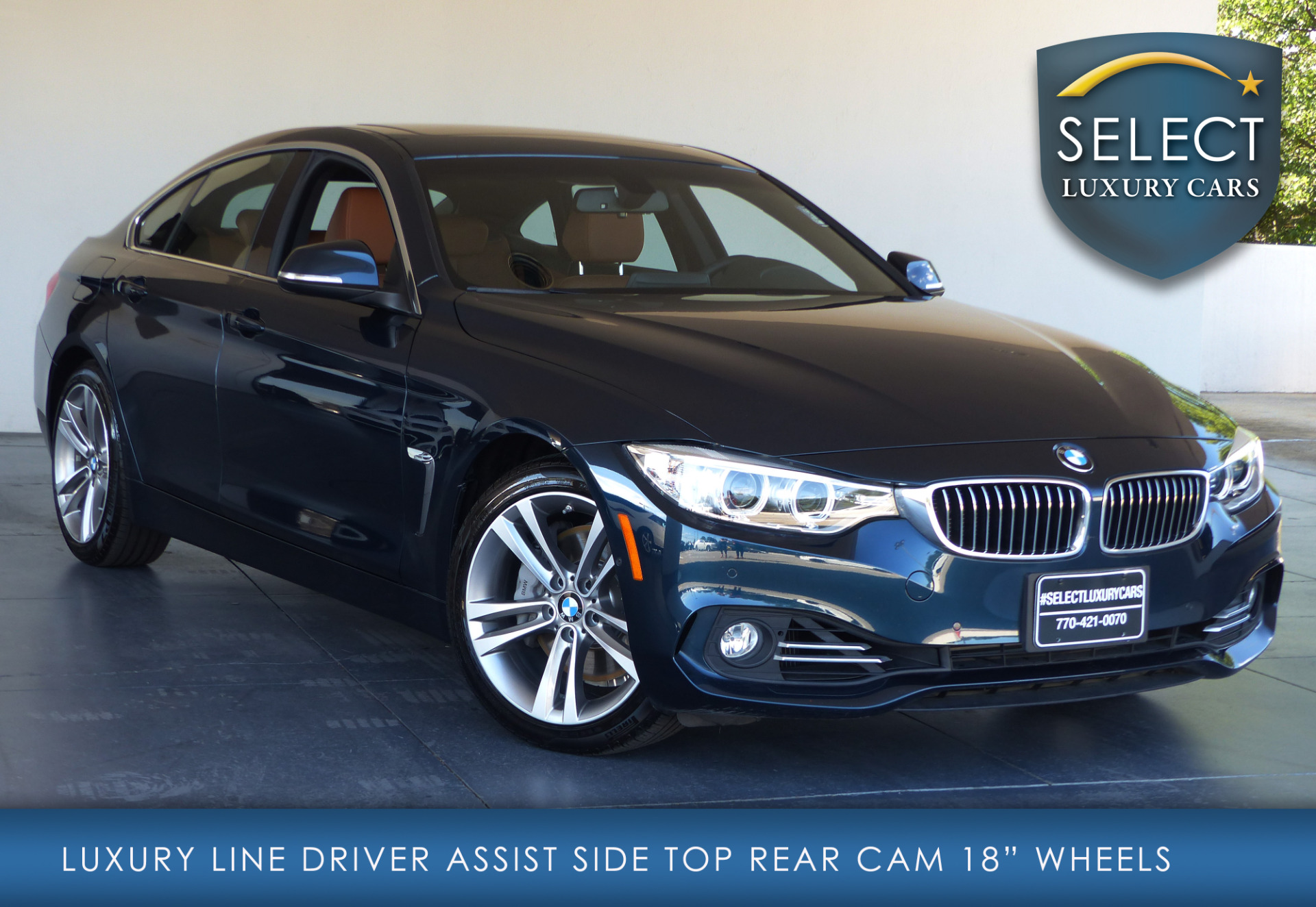 used 2016 bmw 4 series 435i gran coupe marietta ga. Black Bedroom Furniture Sets. Home Design Ideas