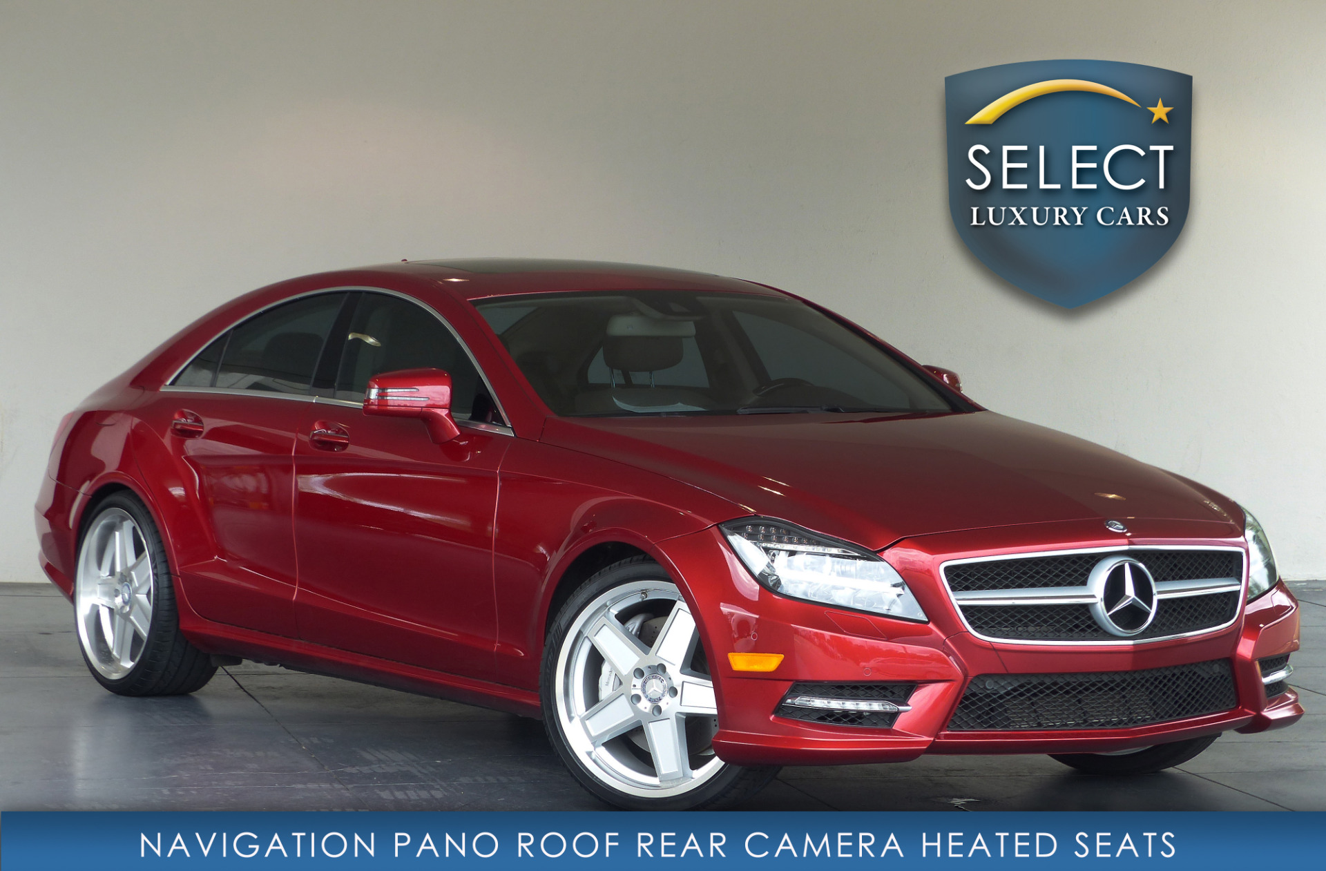 Select Luxury Cars In Marietta Ga: Used 2014 Mercedes-Benz CLS CLS 550