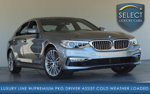 Used2017 BMW 5 Series-Marietta, GA