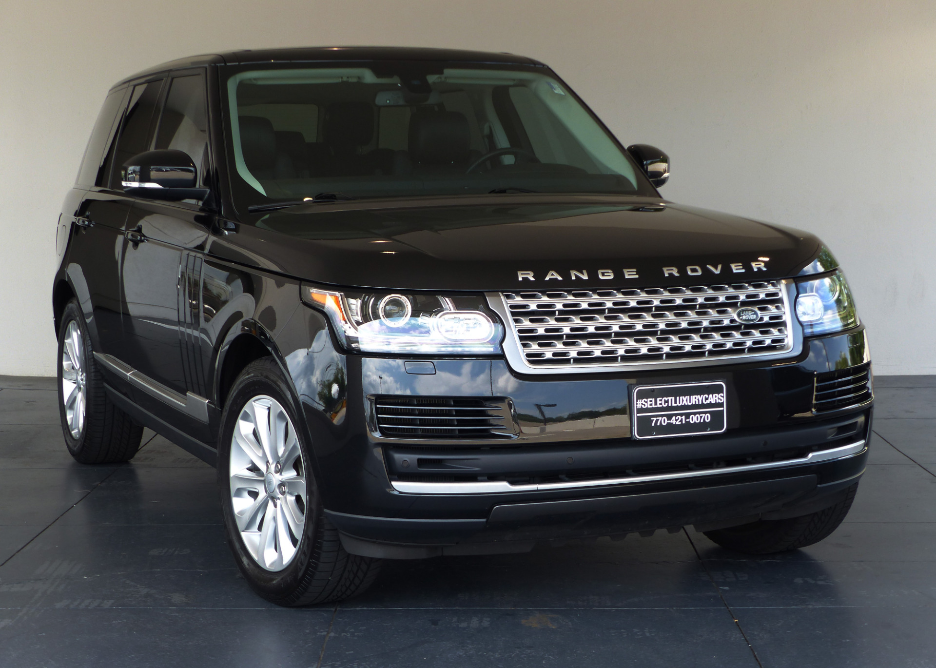 used 2015 land rover range rover 3 0l v6 supercharged hse marietta ga. Black Bedroom Furniture Sets. Home Design Ideas