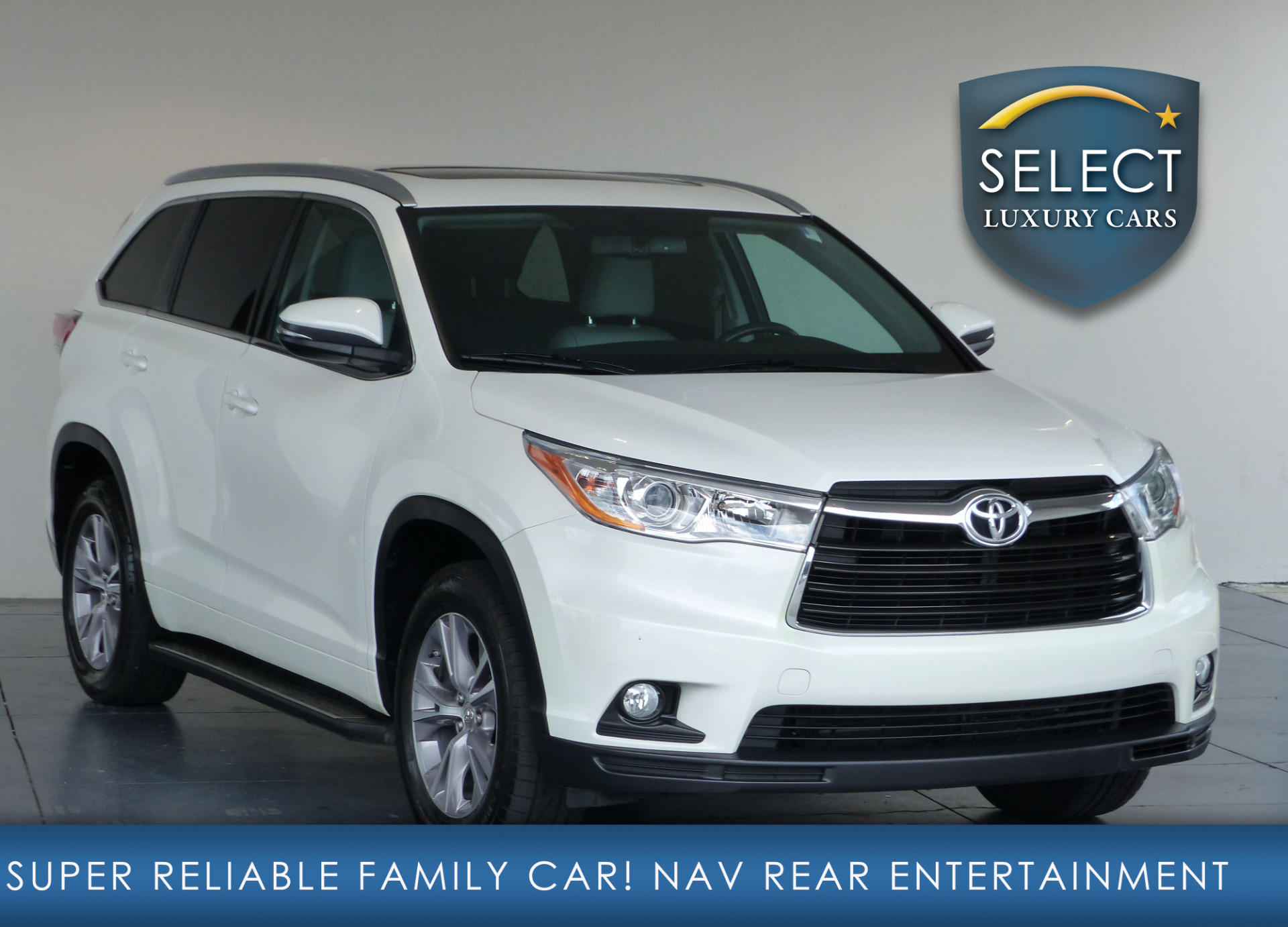 select luxury motors marietta toyota highlander