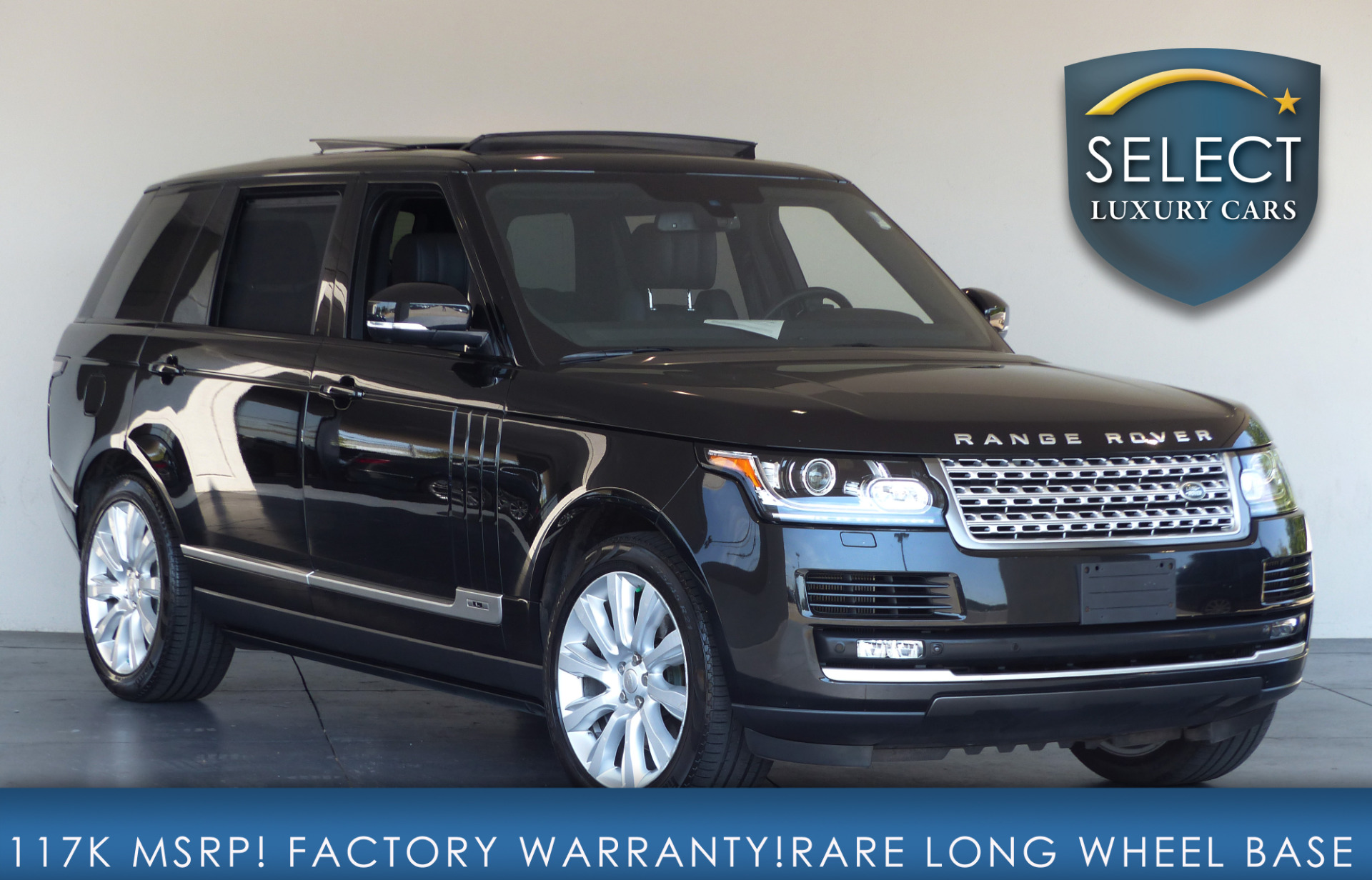 used 2014 land rover range rover 5 0l v8 supercharged. Black Bedroom Furniture Sets. Home Design Ideas