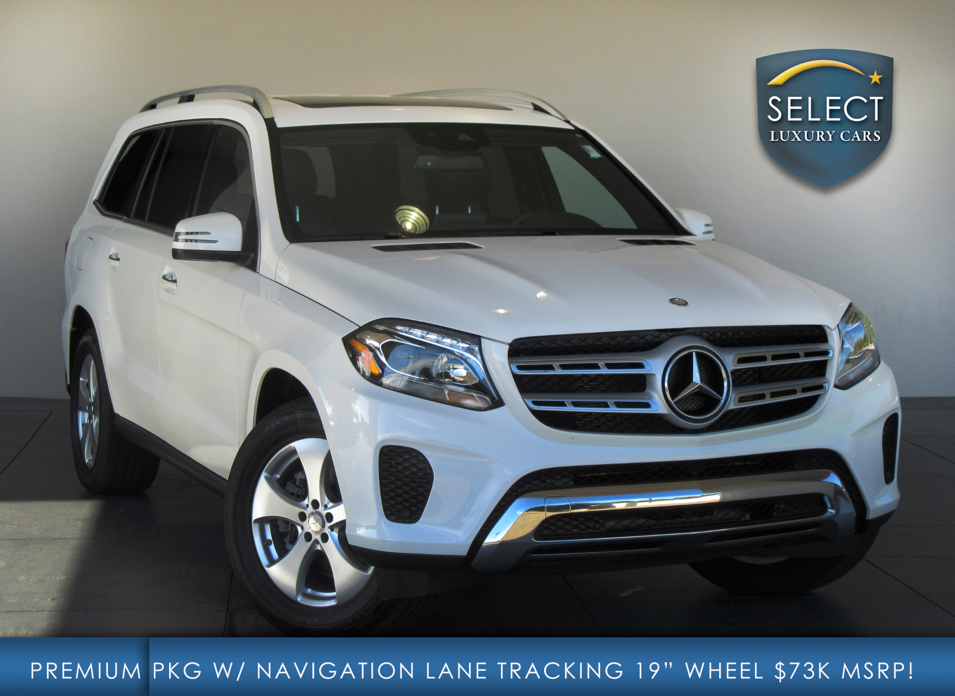 Used 2017 mercedes benz gls gls450 marietta ga for Used mercedes benz gls450