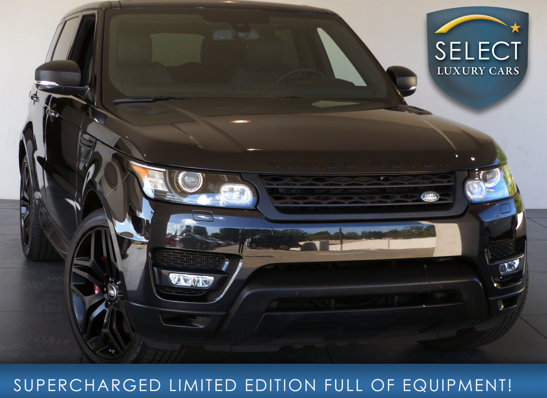 used 2015 land rover range rover sport 5 0l v8. Black Bedroom Furniture Sets. Home Design Ideas