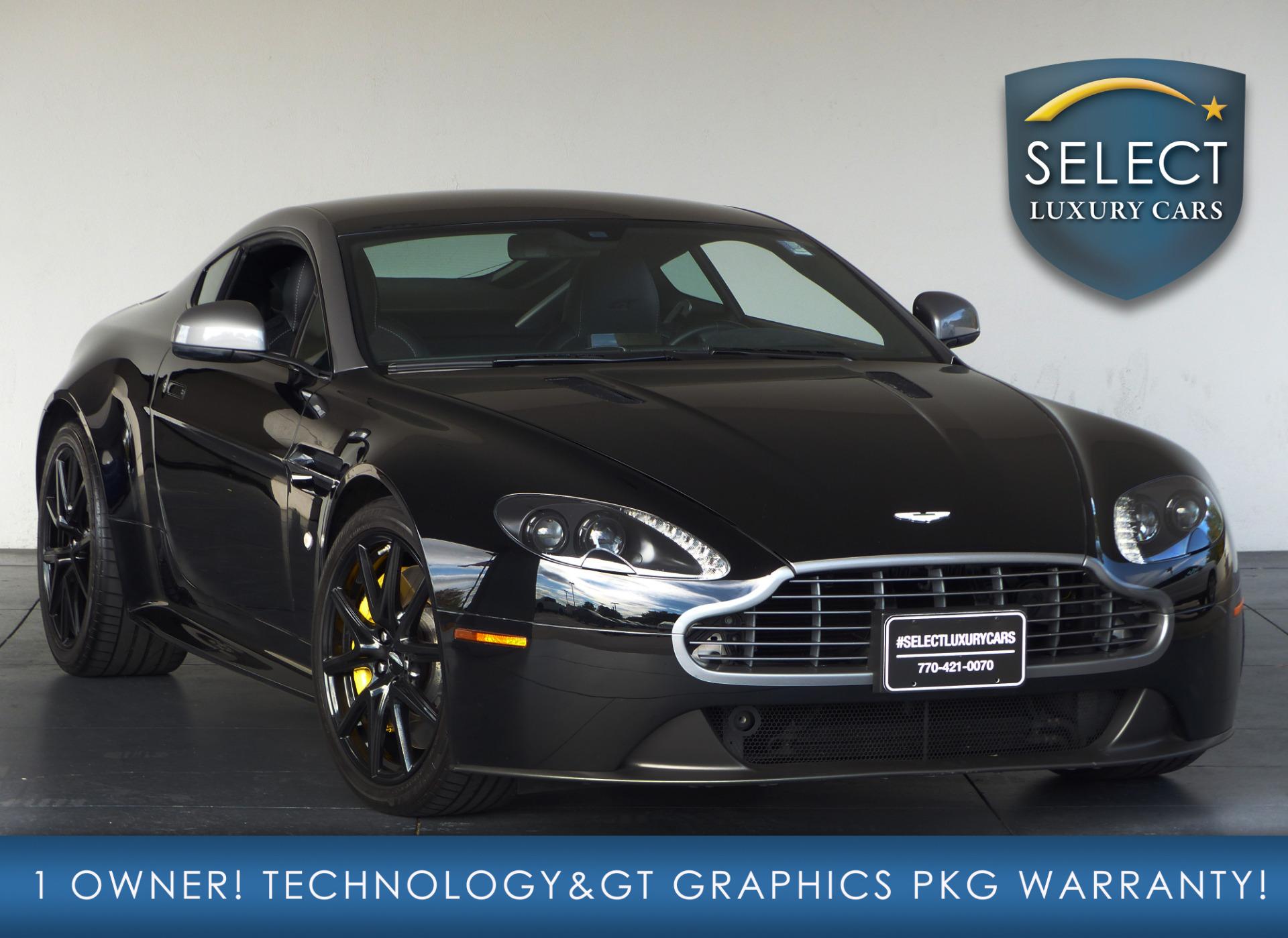 Select Luxury Cars In Marietta Ga: Used 2015 Aston Martin Vantage GT