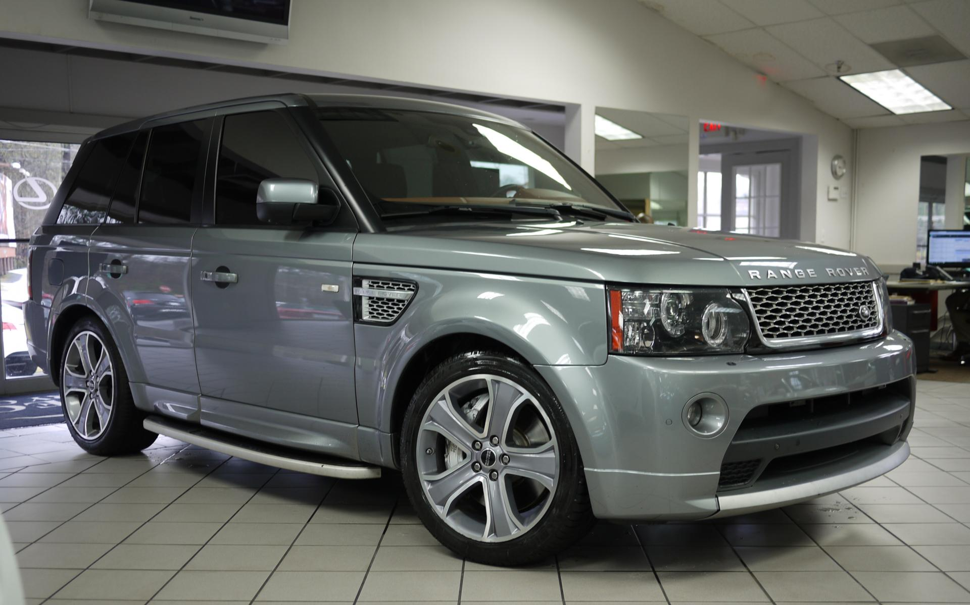 used 2012 land rover range rover sport supercharged marietta ga. Black Bedroom Furniture Sets. Home Design Ideas