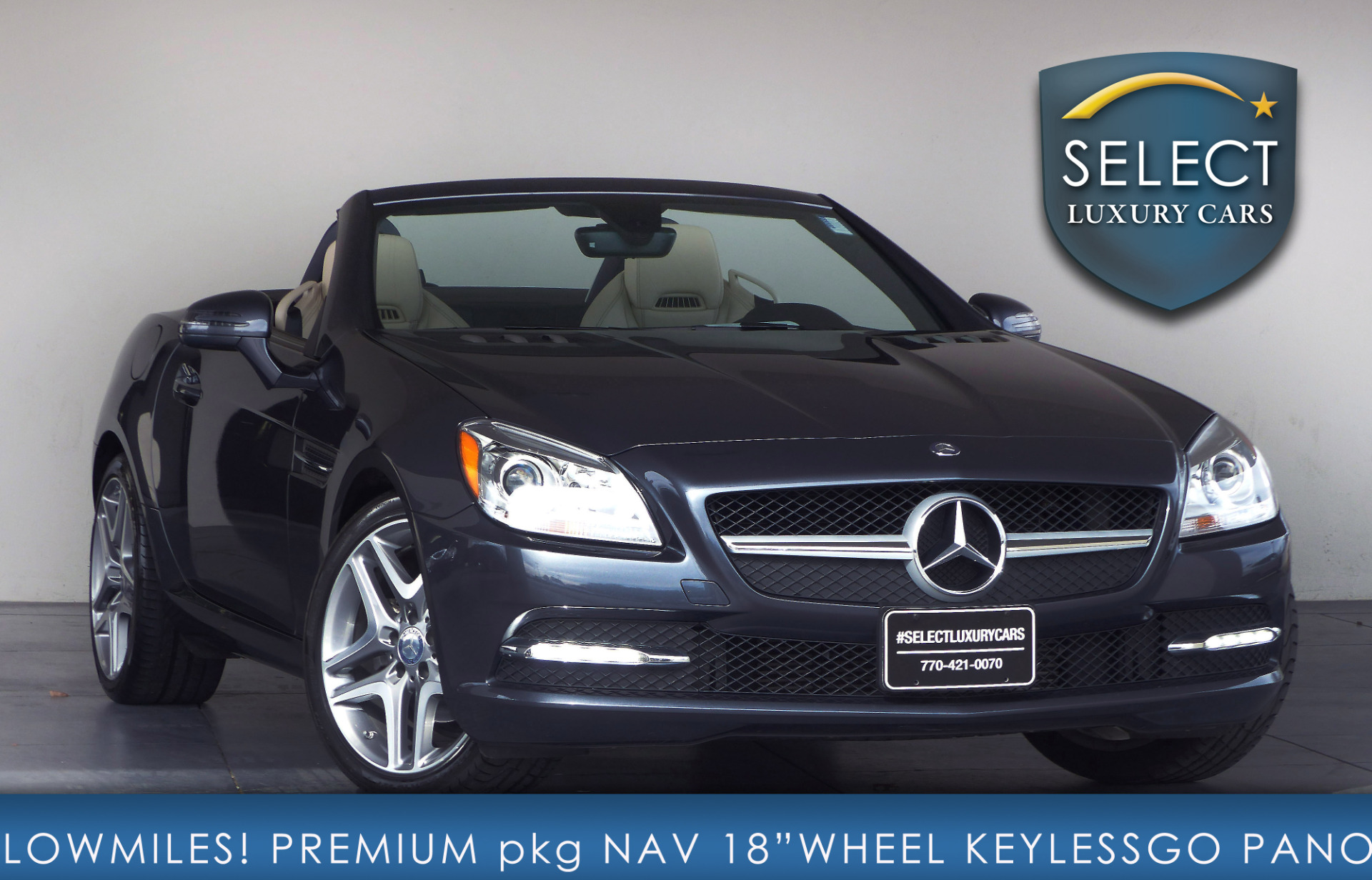 used 2015 mercedes benz slk slk 250 marietta ga. Black Bedroom Furniture Sets. Home Design Ideas