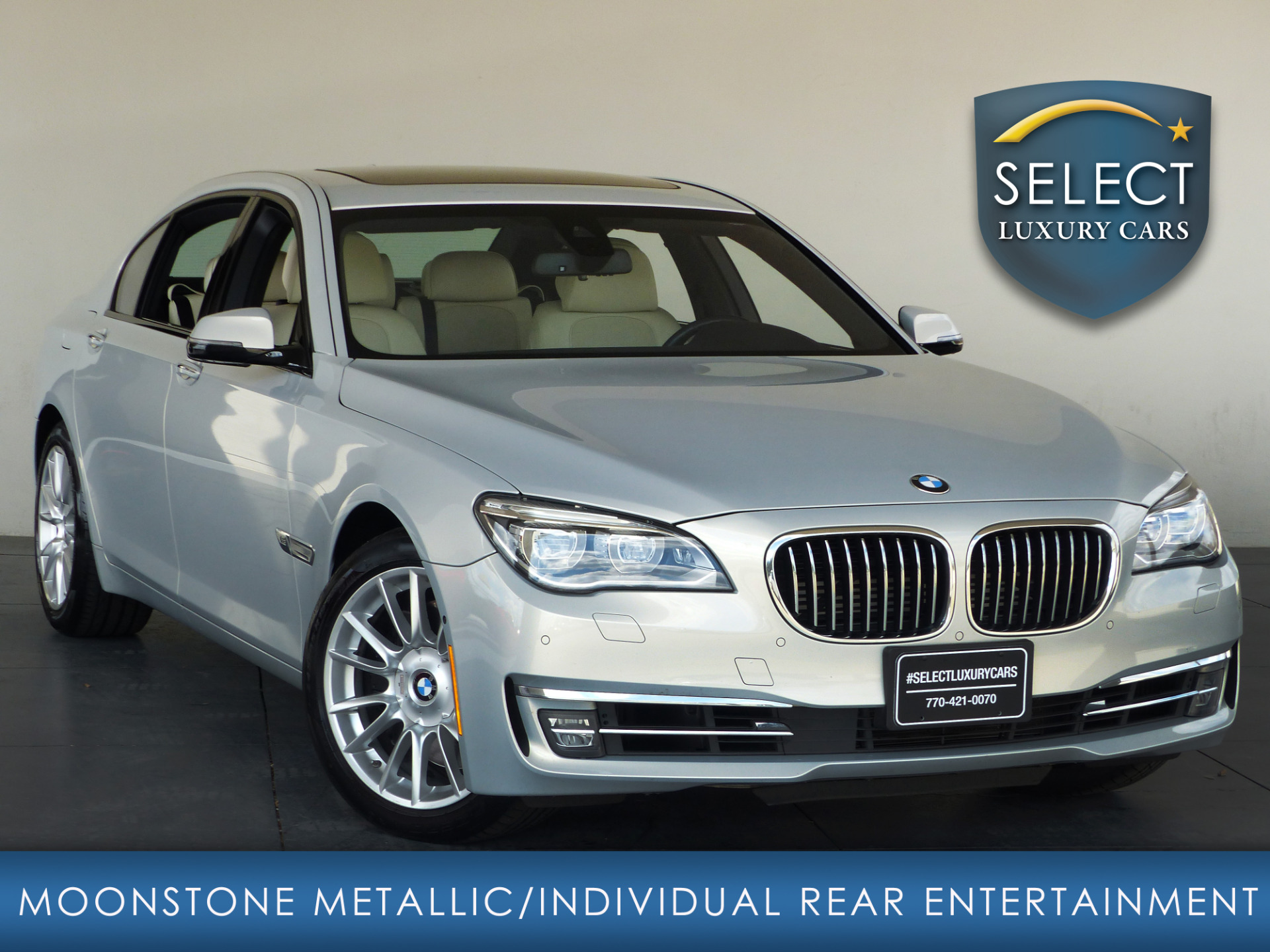 Used 2013 Bmw 7 Series 760li Marietta Ga