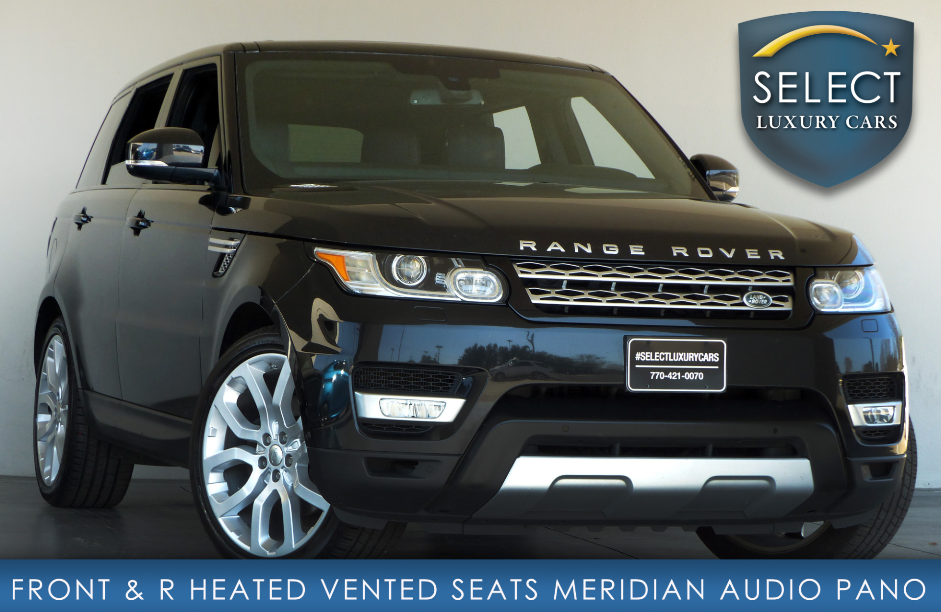 used 2015 land rover range rover sport 3 0l v6 supercharged hse marietta ga. Black Bedroom Furniture Sets. Home Design Ideas