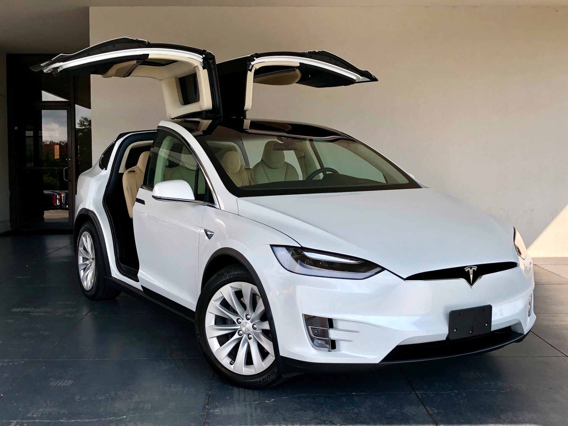 used 2017 tesla model x 100d marietta ga. Black Bedroom Furniture Sets. Home Design Ideas