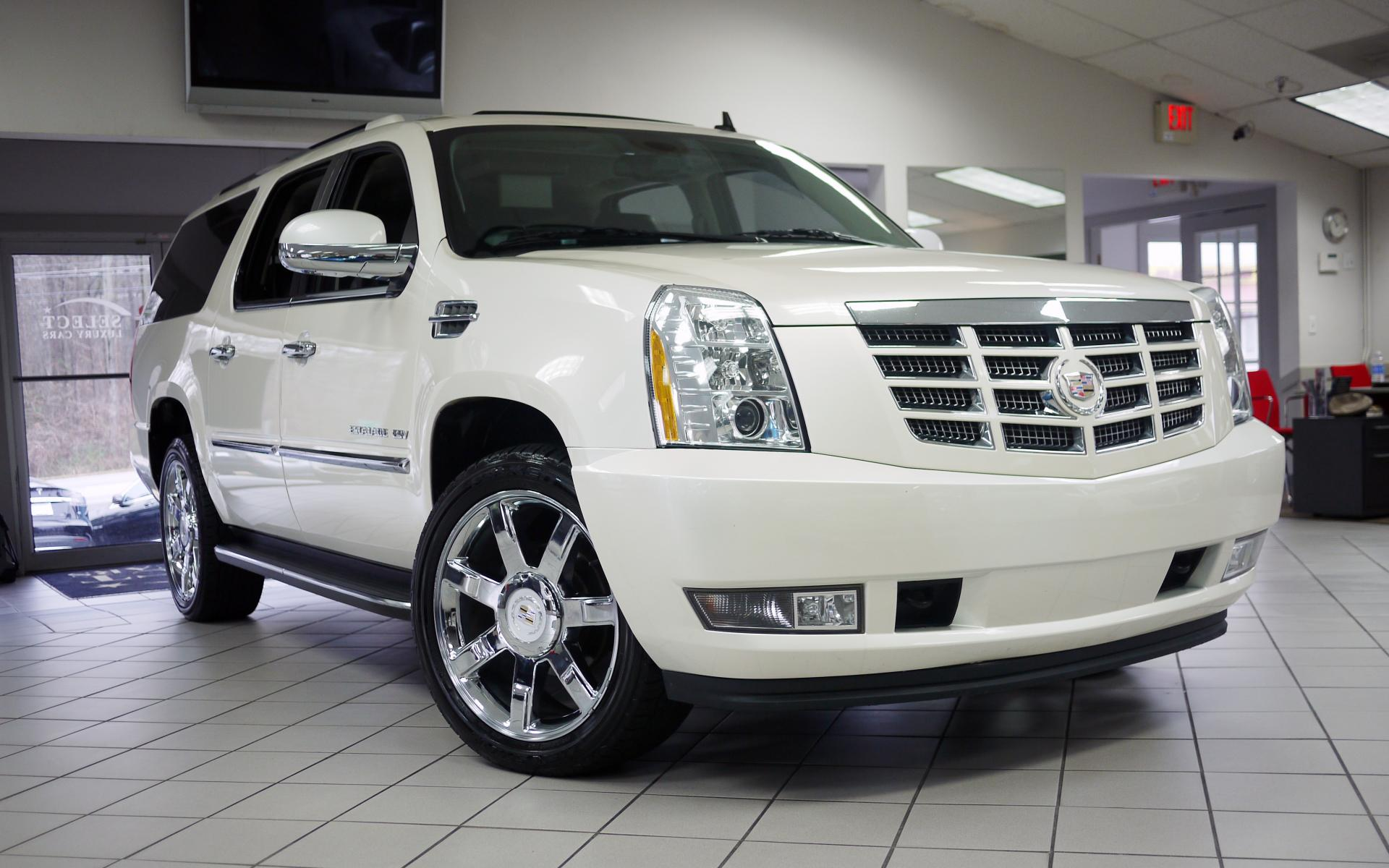 used 2012 cadillac escalade esv luxury marietta ga. Black Bedroom Furniture Sets. Home Design Ideas