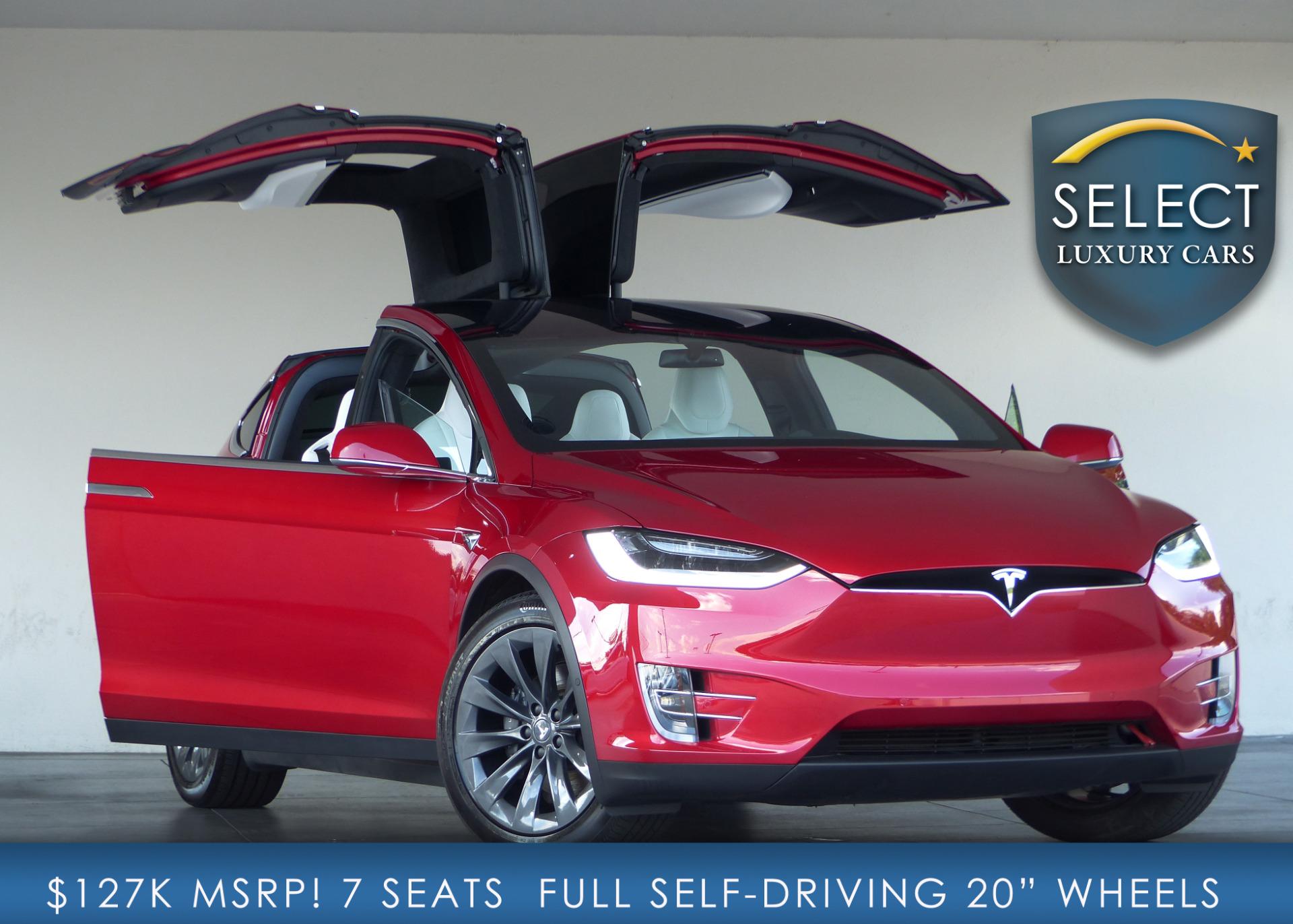 Used 2017 Tesla Model X 100d Marietta Ga