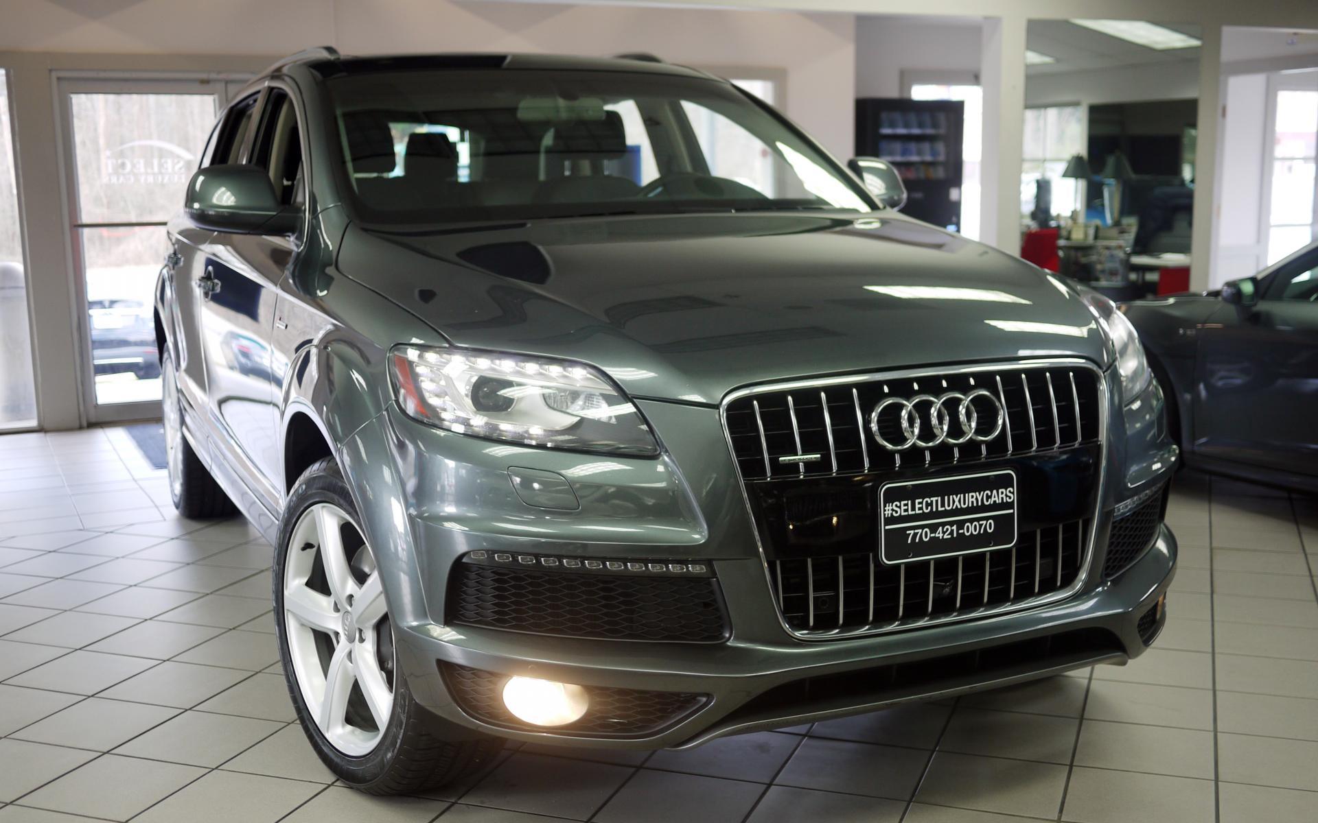 Used 2013 Audi Q7 30t S Line Prestige Marietta Ga
