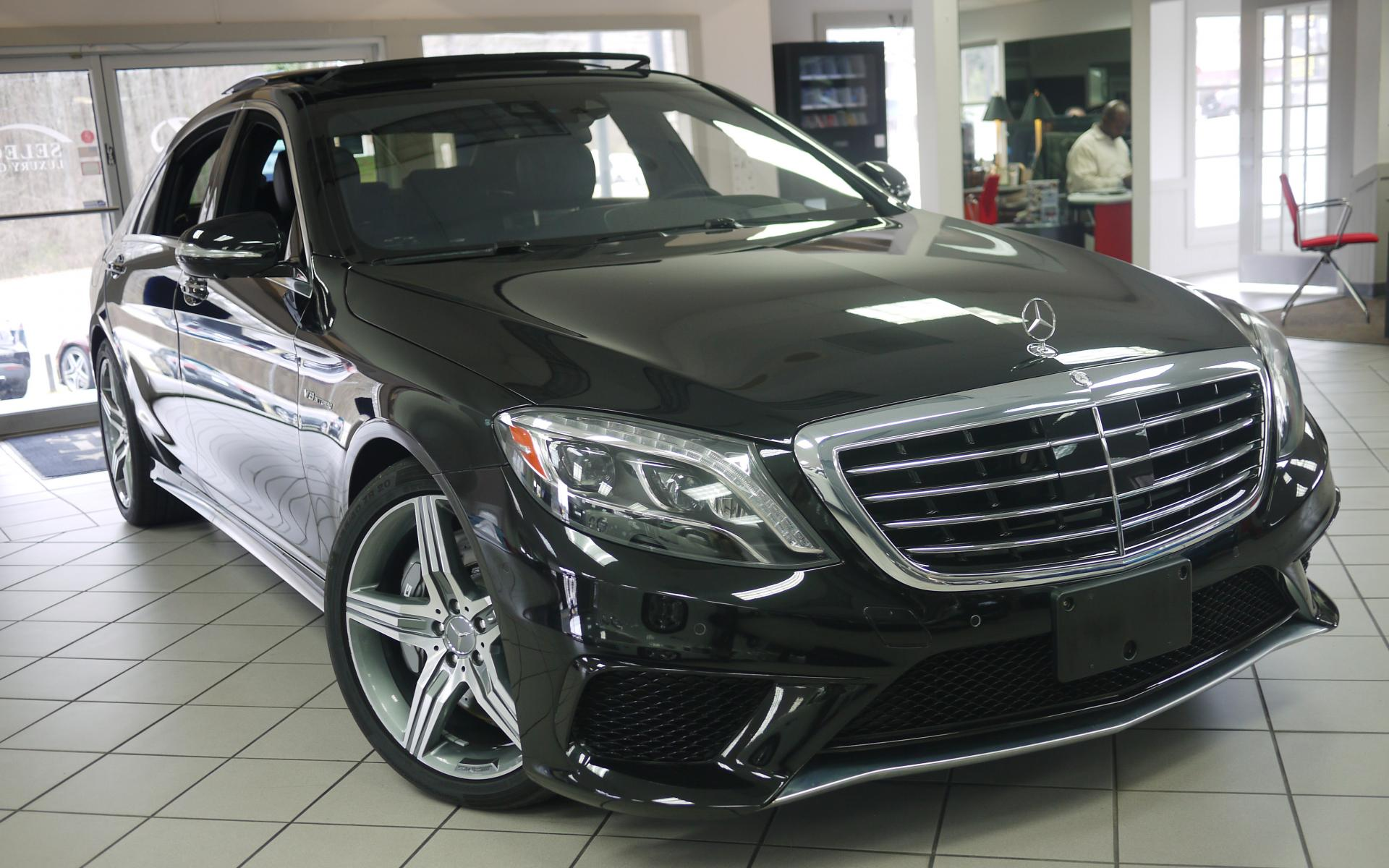 Used 2015 mercedes benz s class s63 amg marietta ga for 2015 mercedes benz s63